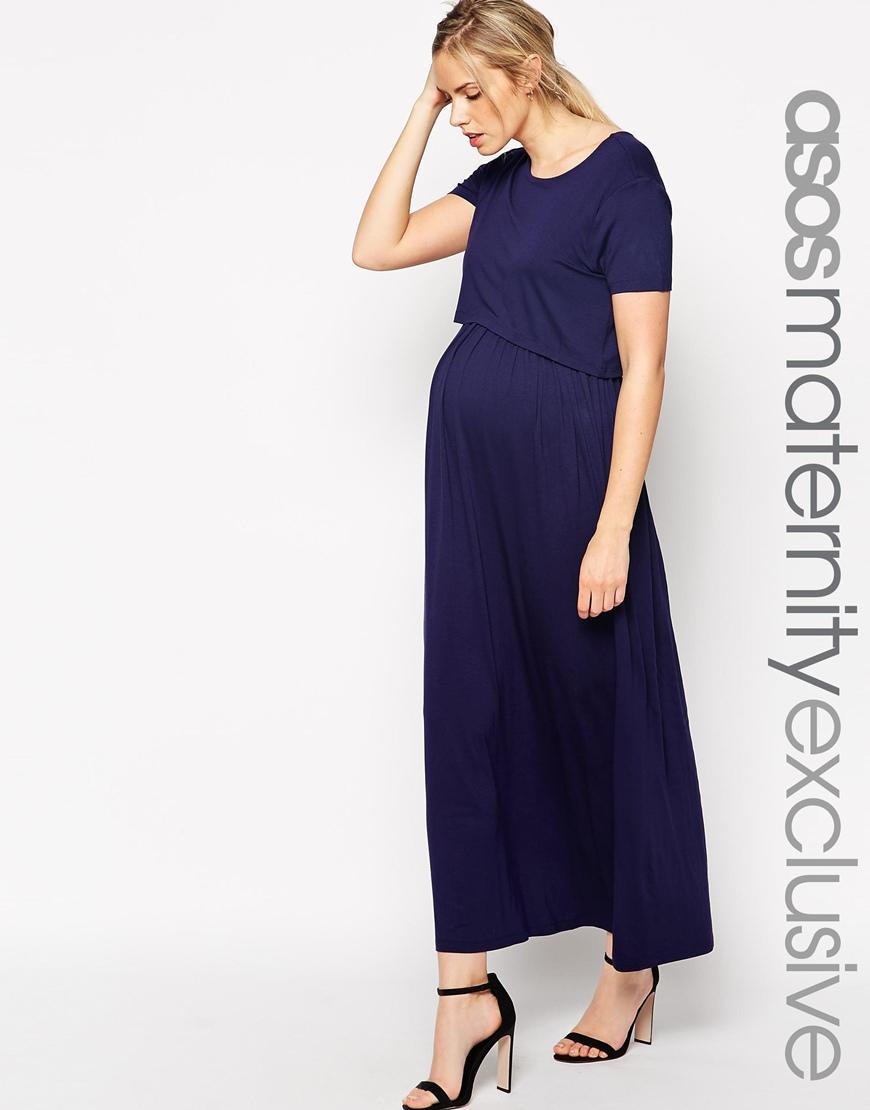 3681947cab652 Asos Maternity Nursing Maxi Dress - Photo Dress Wallpaper HD AOrg