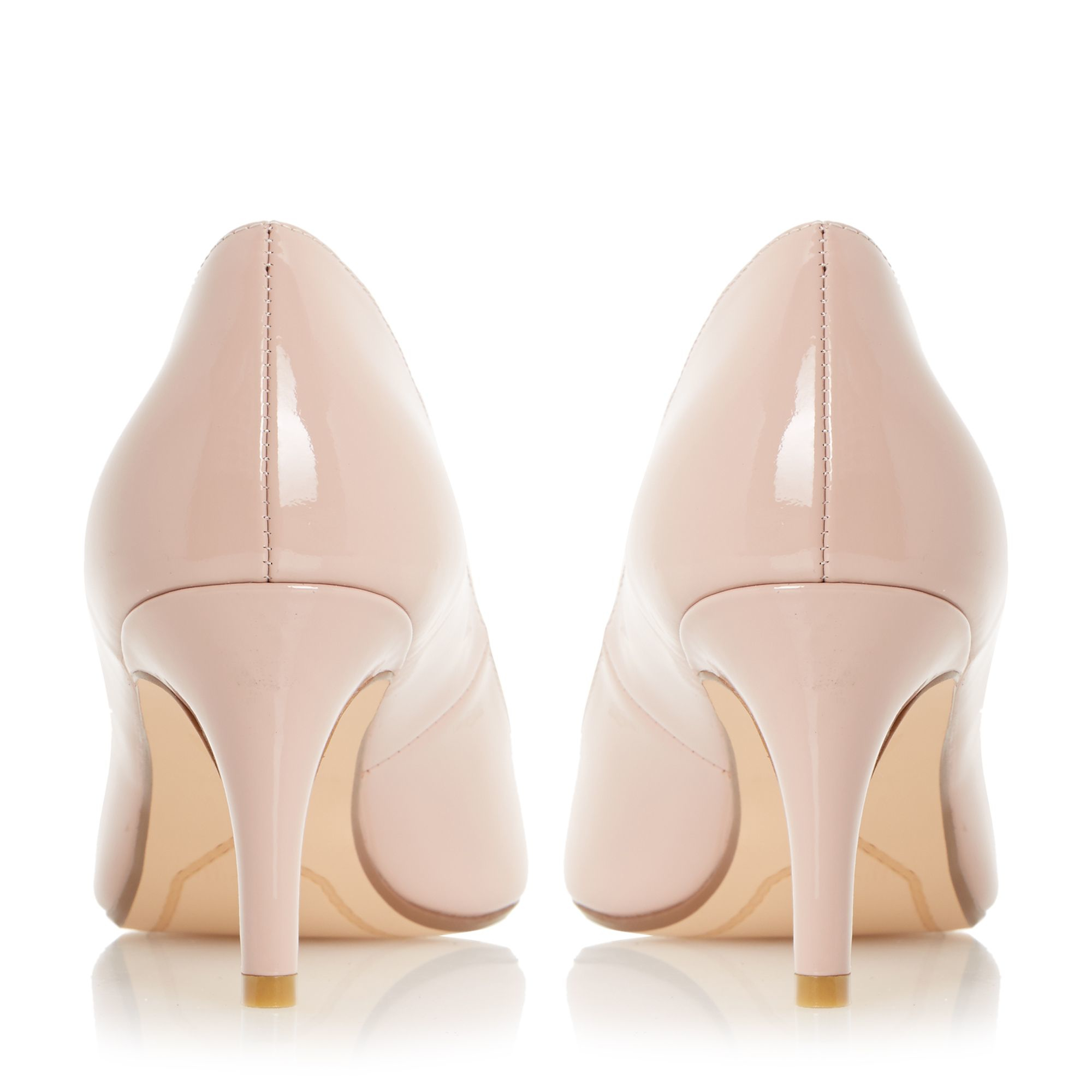 Pink Shoes Mid Heel
