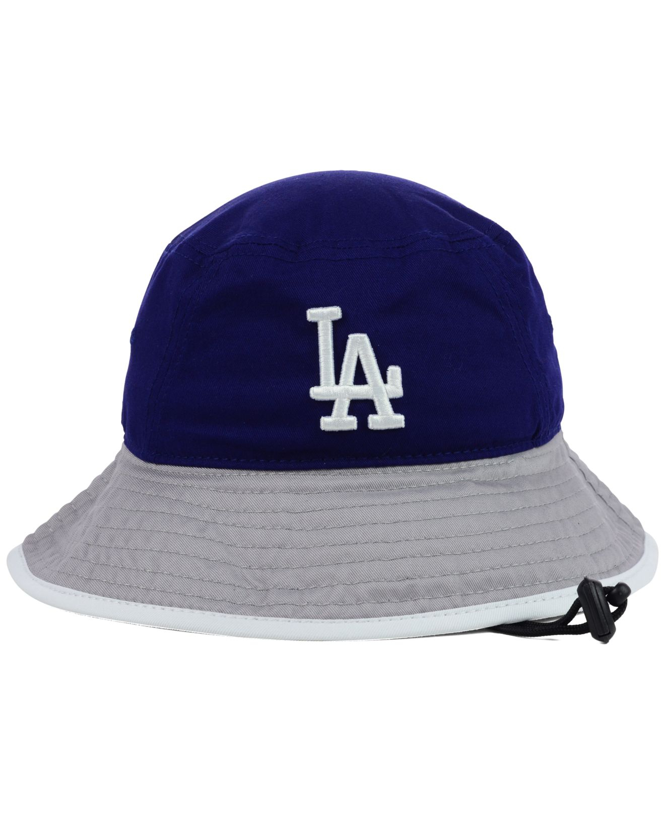 Lyst - KTZ Los Angeles Dodgers Tipped Bucket Hat in Blue for Men 544608d5df8