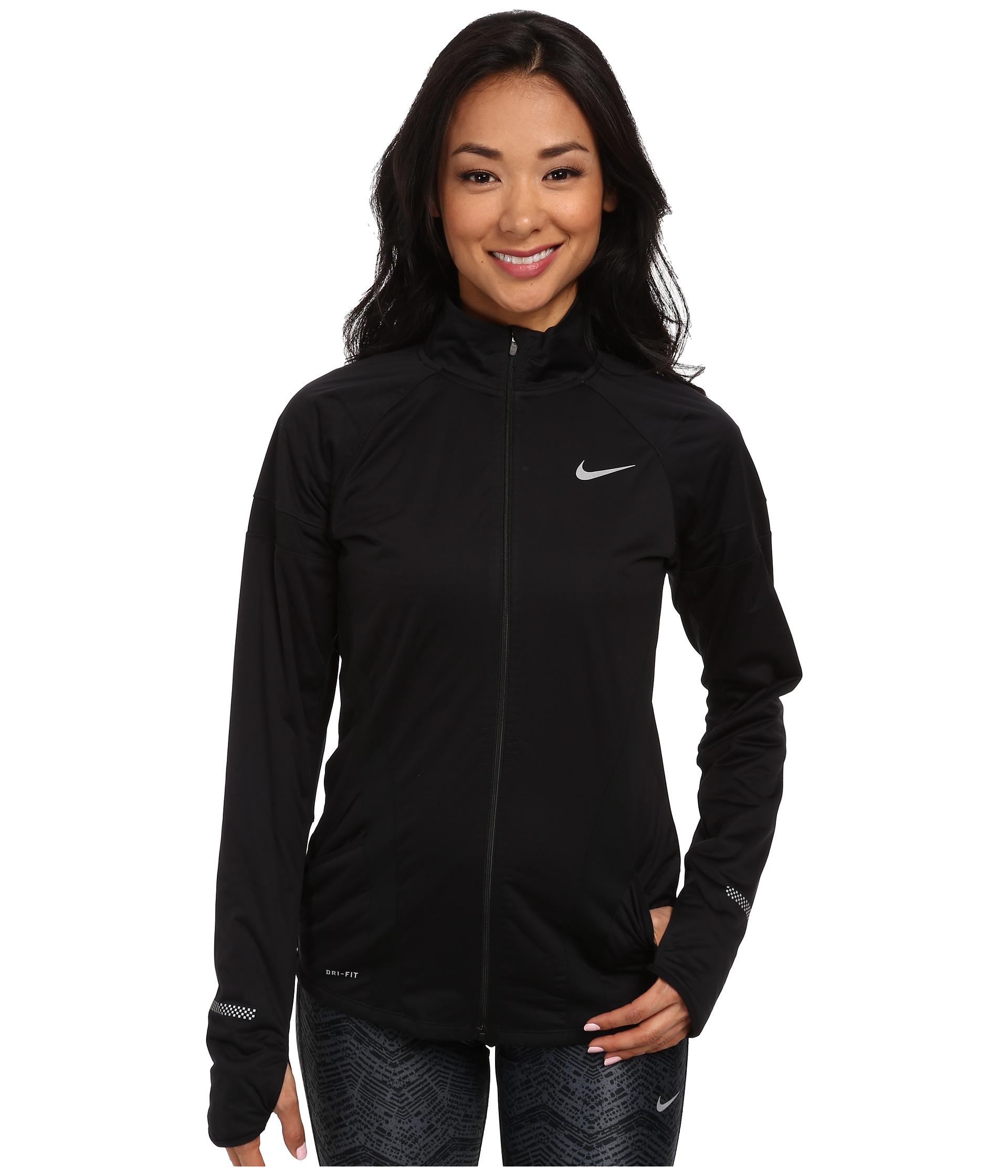 e8d0a2f47ace Lyst - Nike Element Shield Full-Zip Jacket in Black