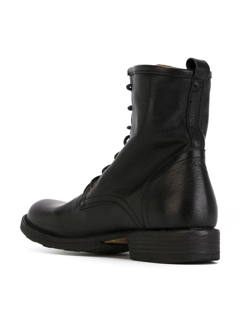 fiorentini baker 39 eternity elme 39 boots in black for men lyst. Black Bedroom Furniture Sets. Home Design Ideas
