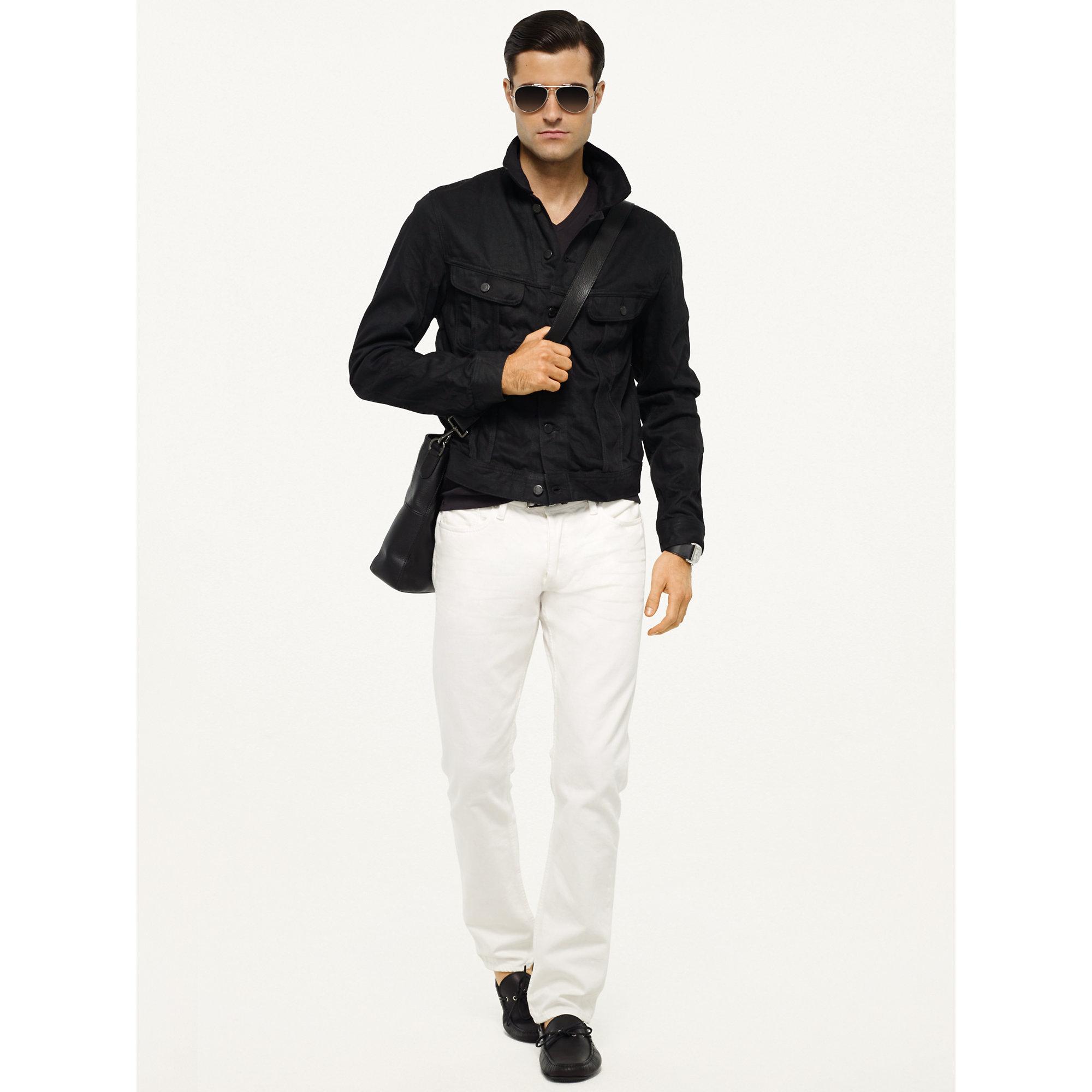 edfb4c7cc3 Lyst - Ralph Lauren Black Label Mason Trucker Jacket in Black for Men