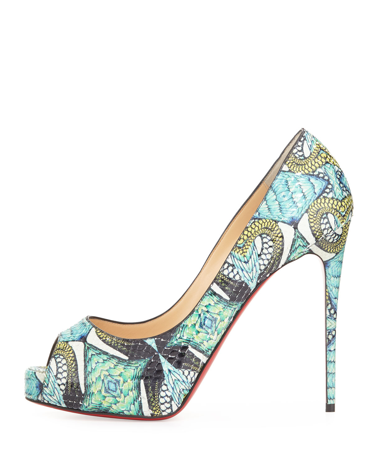 louboutin New Very Prive Multicolore