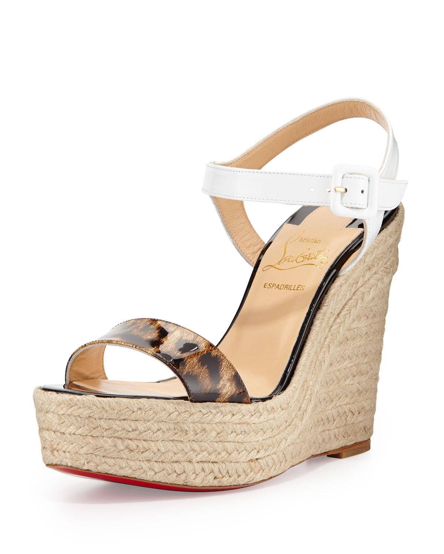 c9902de4c77 christian louboutin wedges red bottom shoes for women louboutin ...