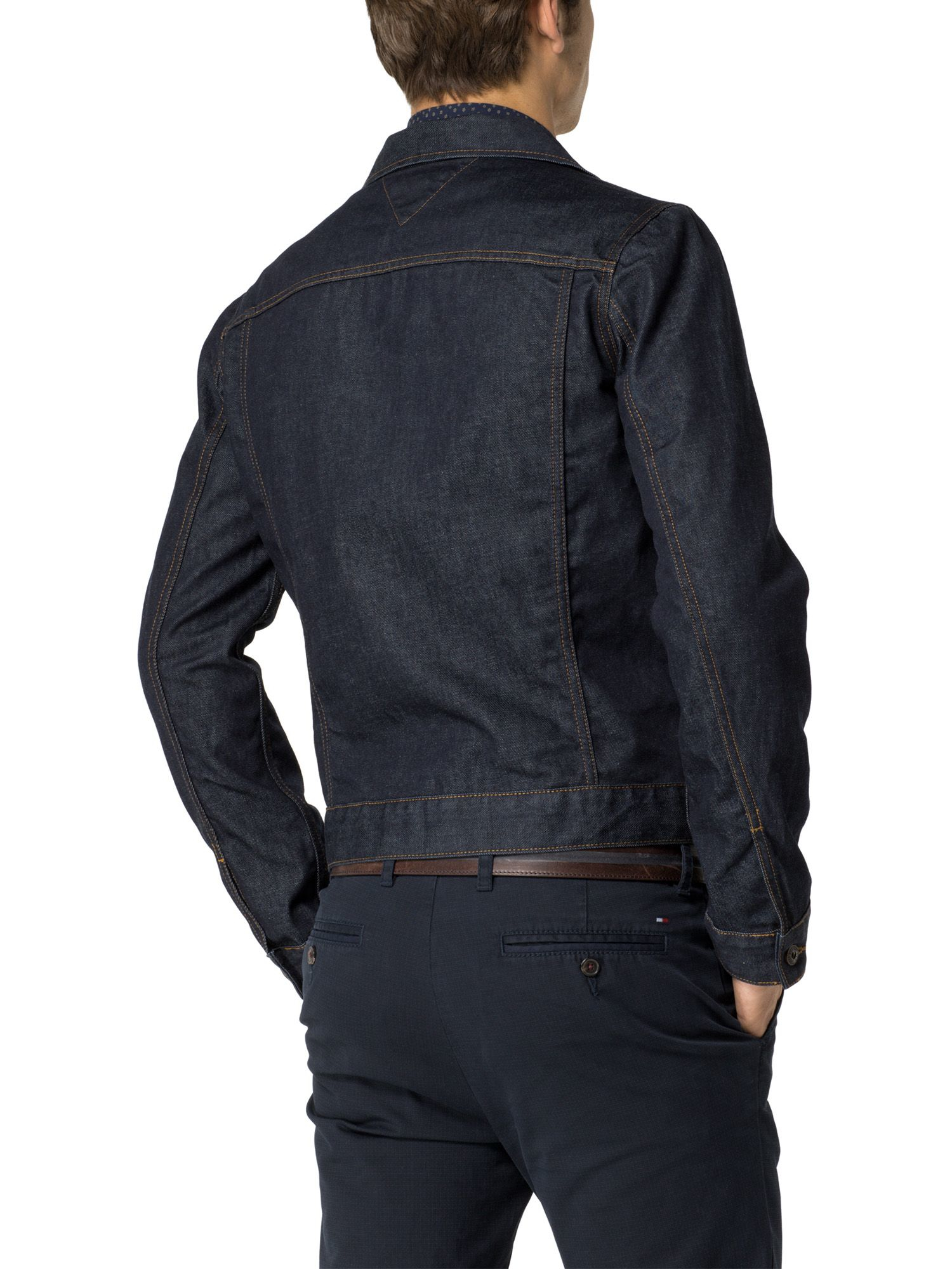 Tommy hilfiger Denim Jacket in Blue for Men | Lyst