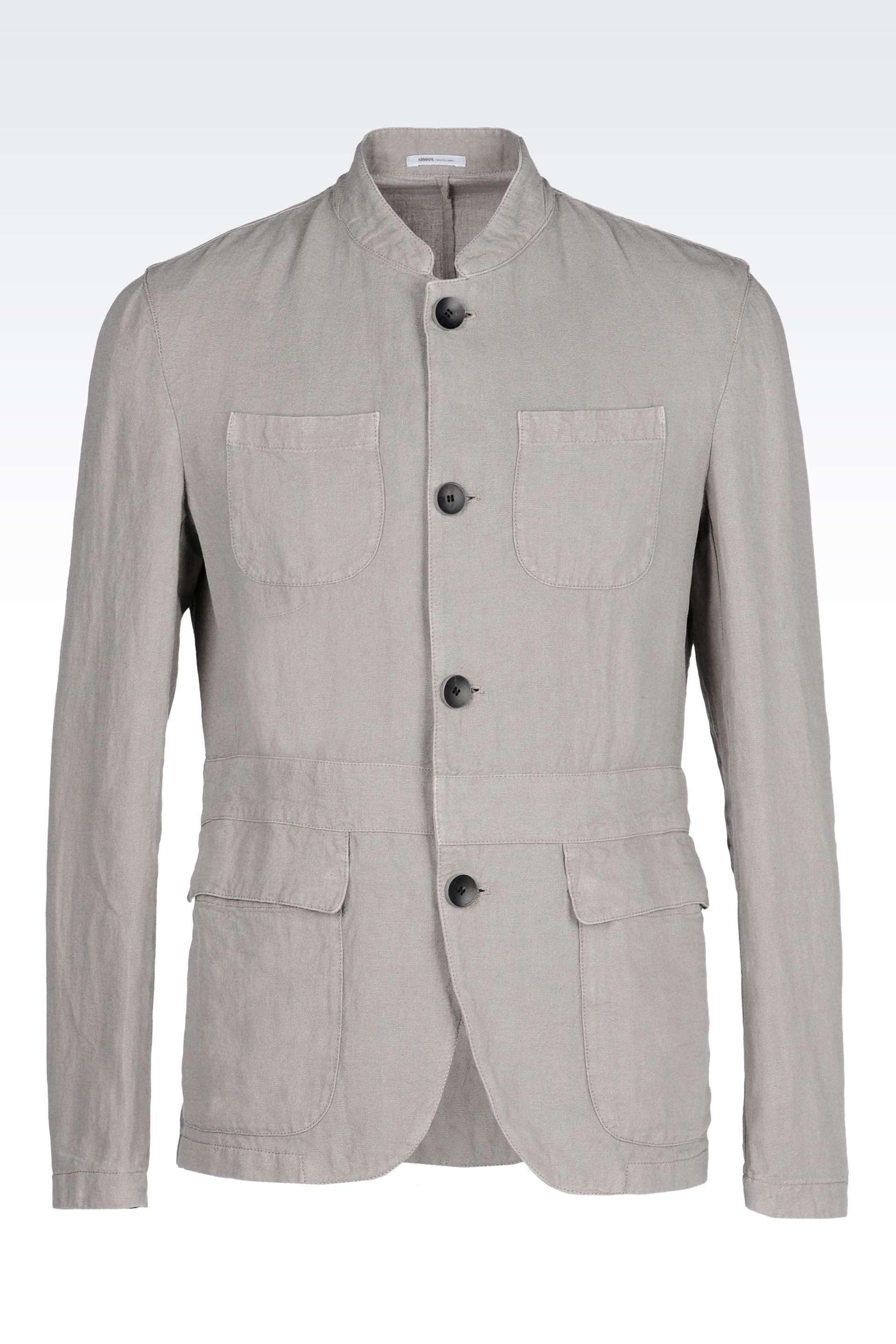 A light grey tone in a casual parka style or quilted coat offers a subtle contrast to pastel jeans and a printed blouse. Choose from minimalist biker jackets in soft leathers and suedes, or opt for a draped cocoon coat for a silhouette with a little drama. Women's Coats & Jackets; % Linen.
