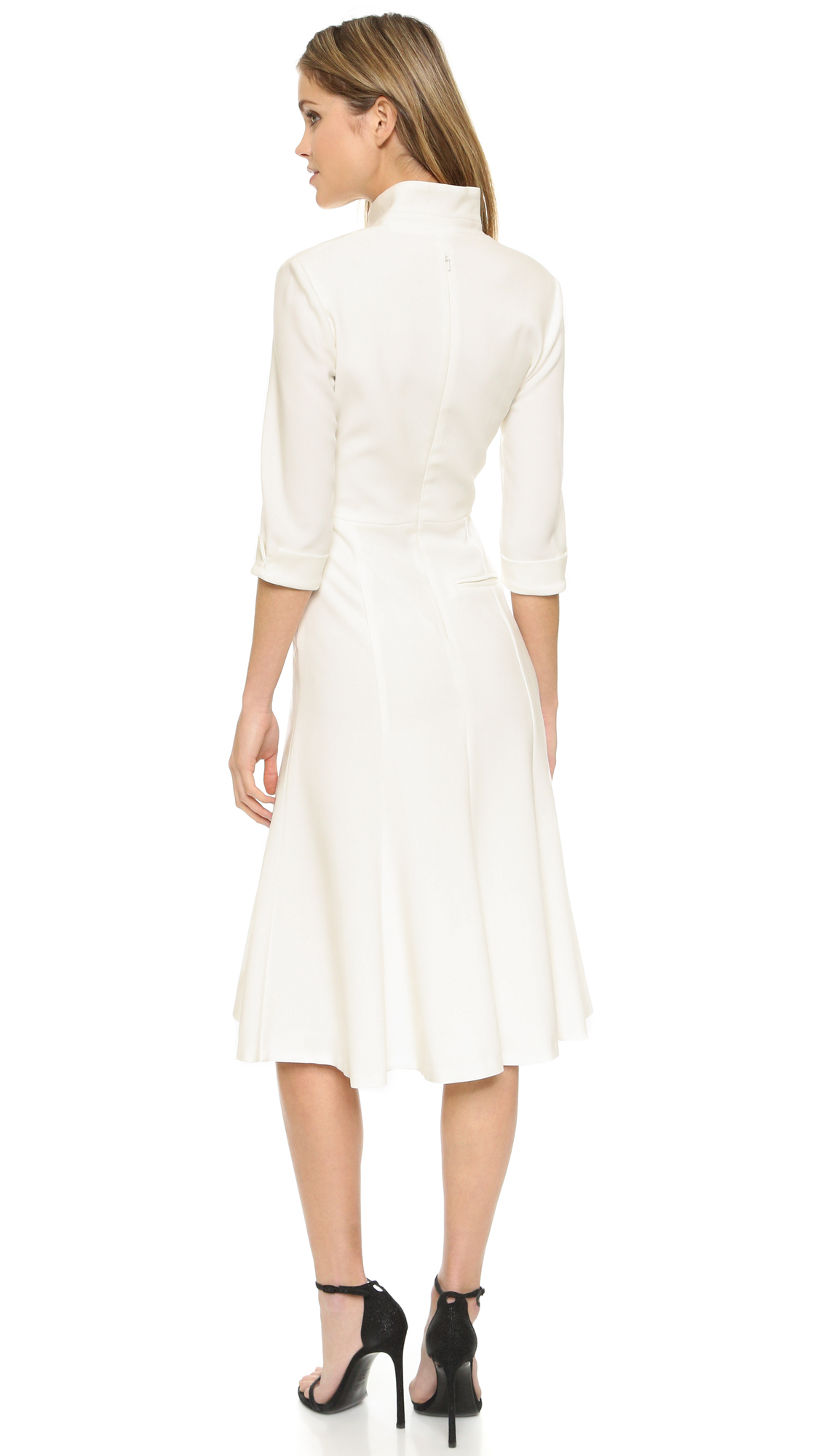 Lyst Black Halo Kensington Dress In White