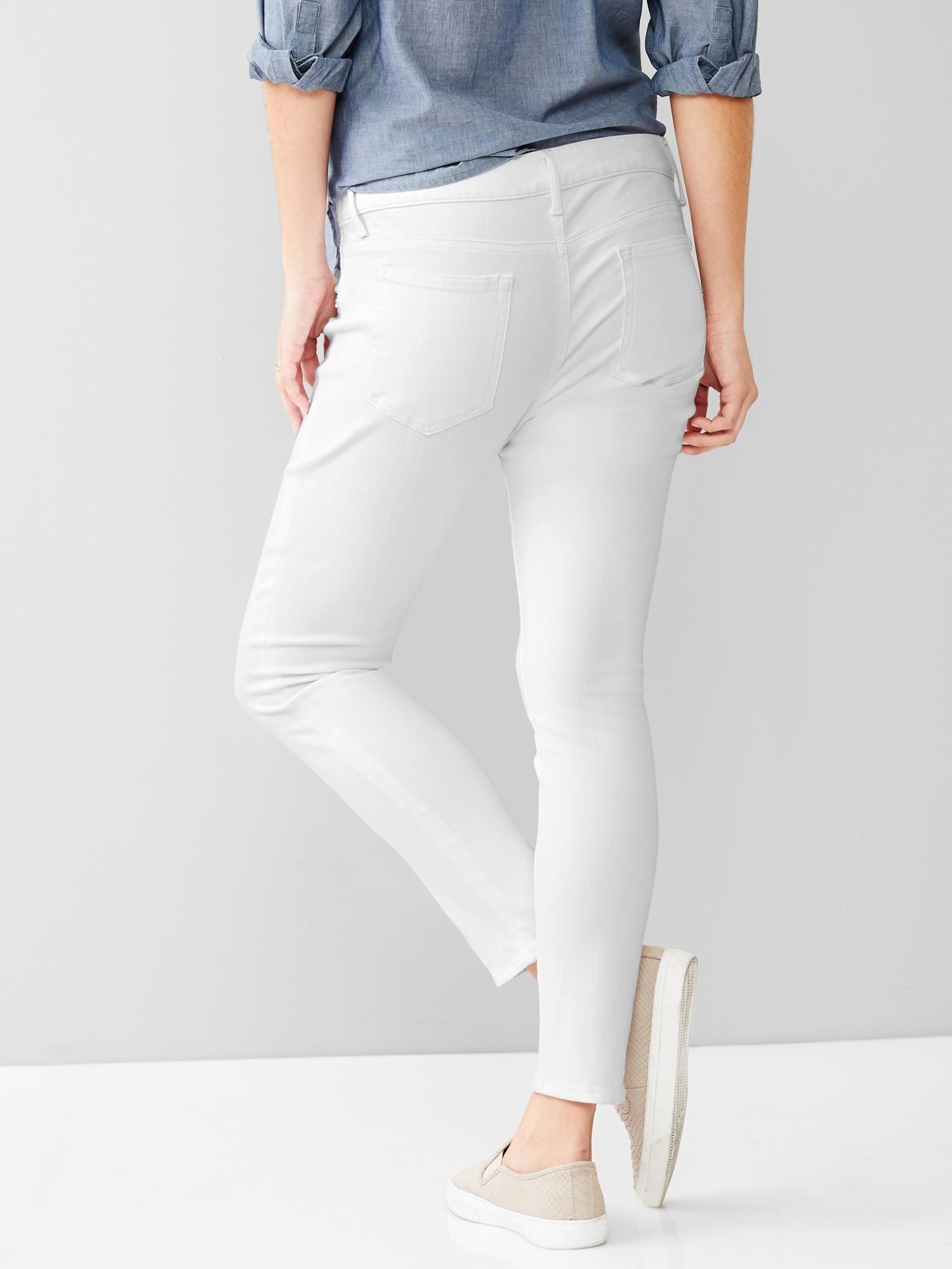 gap 1969 inset panel resolution true skinny skimmer jeans