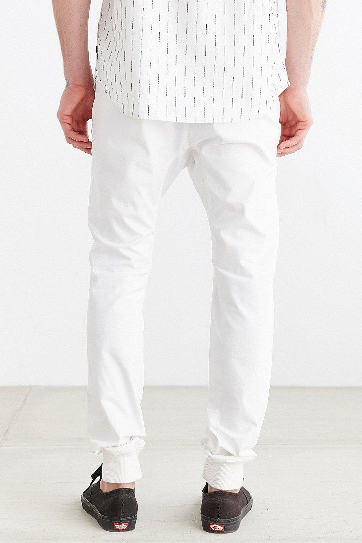 Zanerobe white jeans