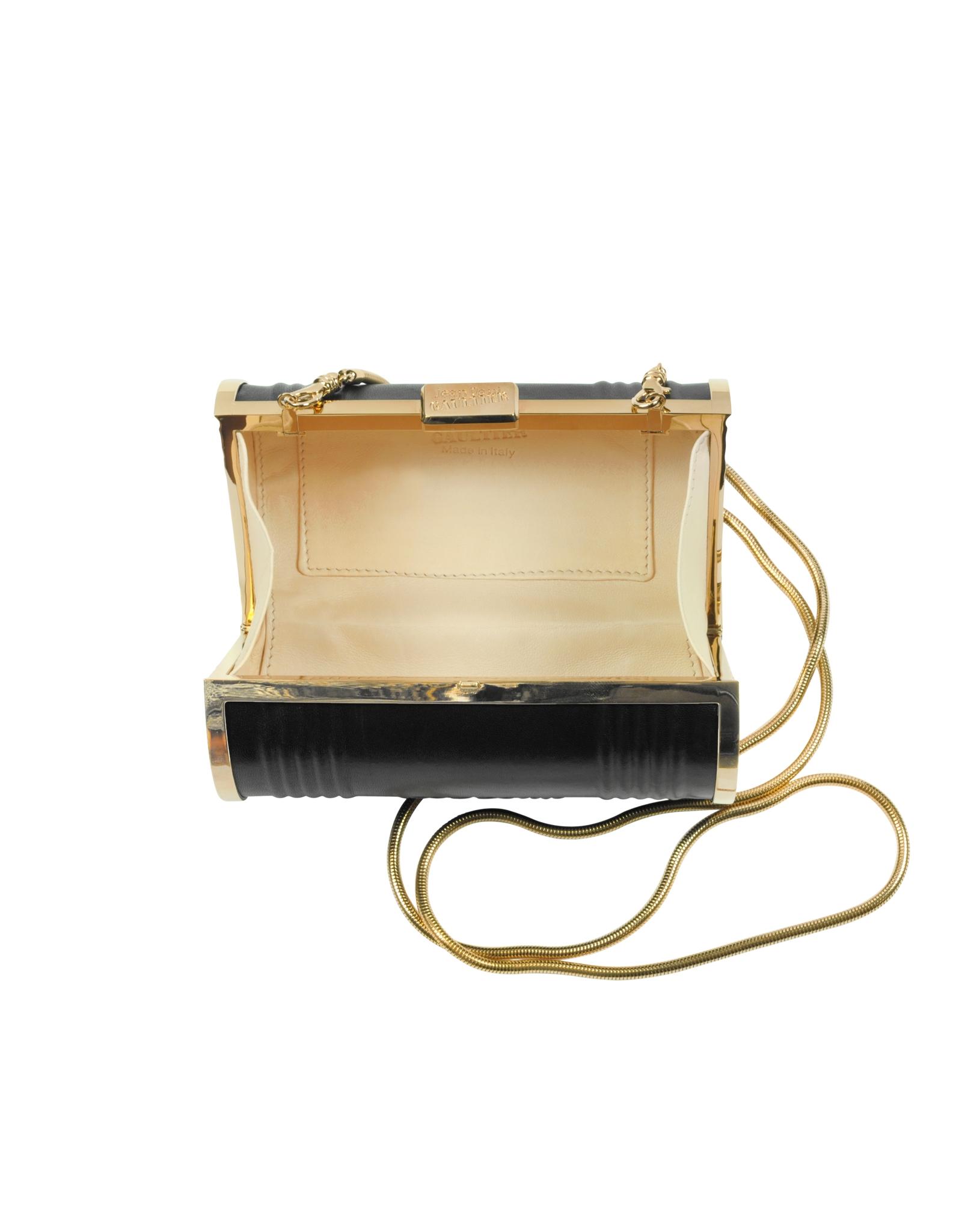 Jean Paul Gaultier Bag In Beige Leather With Chain 6n8iHjFDu
