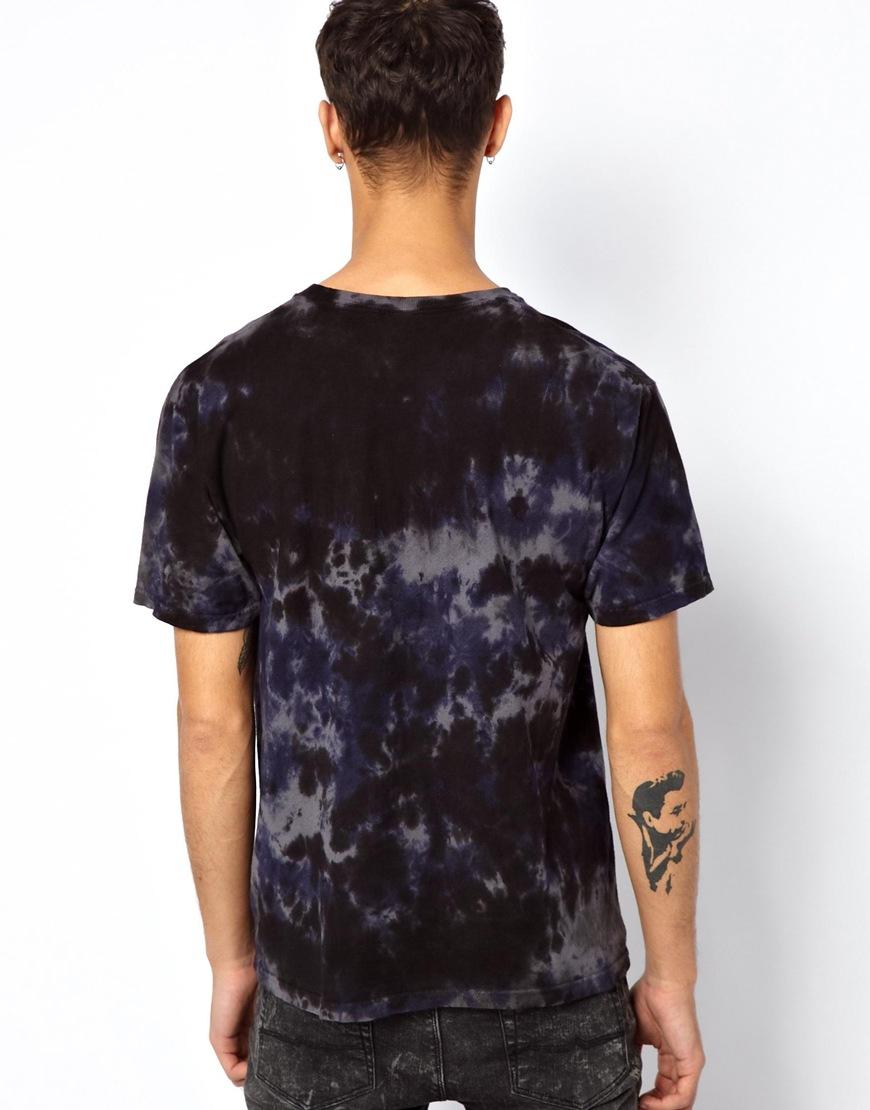 b89b2ce3 Stussy Tshirt with Stock Link Logo in Tie Dye in Purple for Men - Lyst