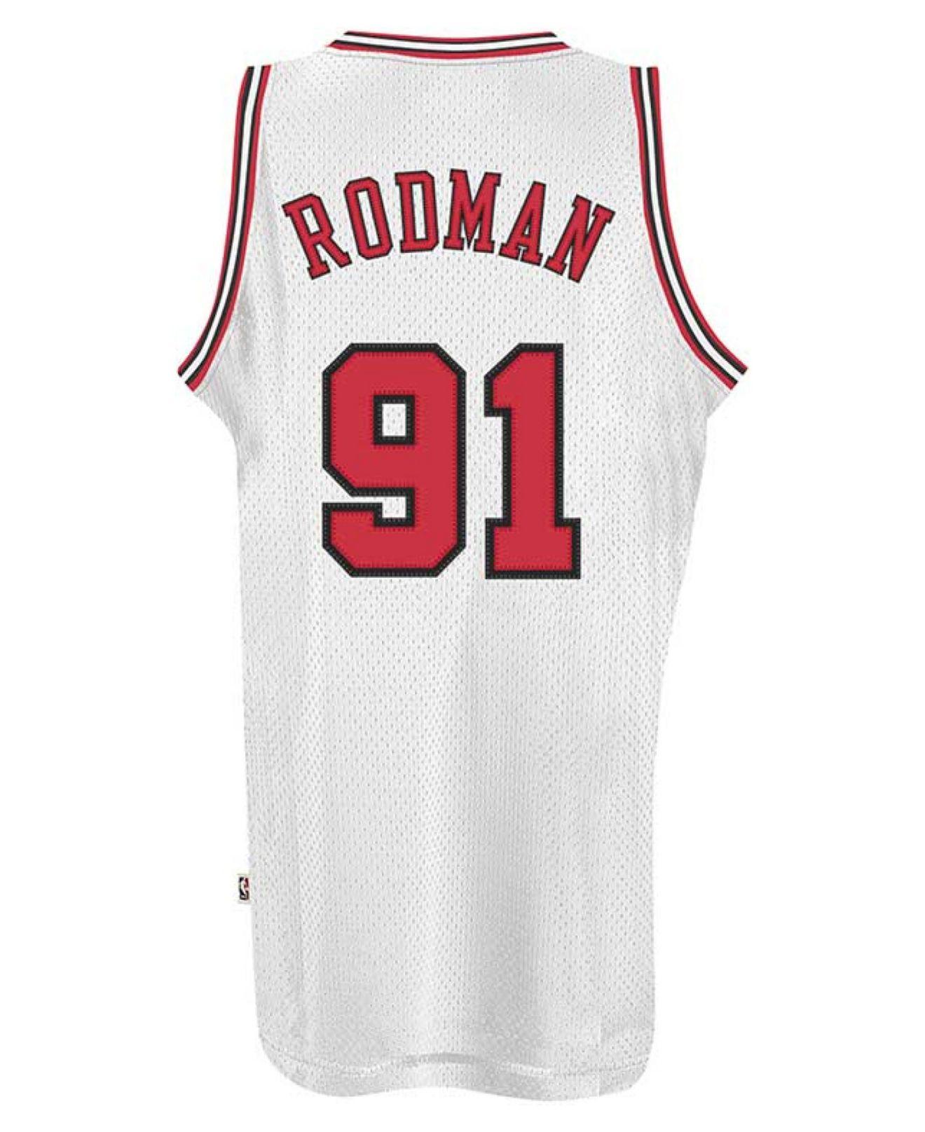 timeless design dd4be ae215 Lyst - adidas Men'S Dennis Rodman Chicago Bulls Retired ...