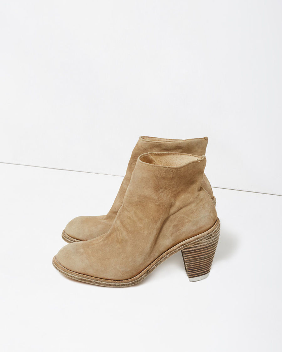 Brilliant Guidi Distressed Boots In Brown  Lyst