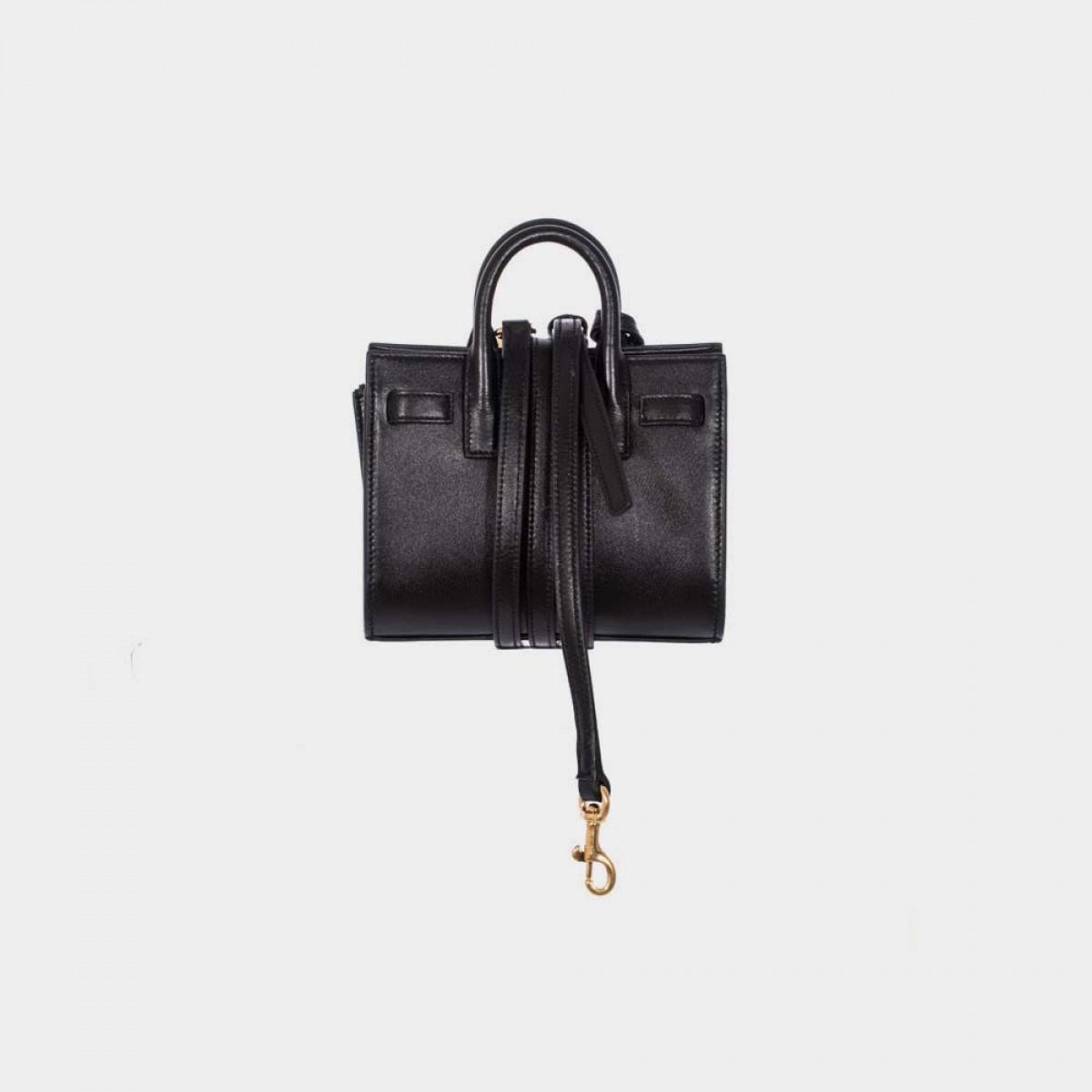 yves saint laurent shoes outlet online - sac de jour mini grain leather tote bag, white