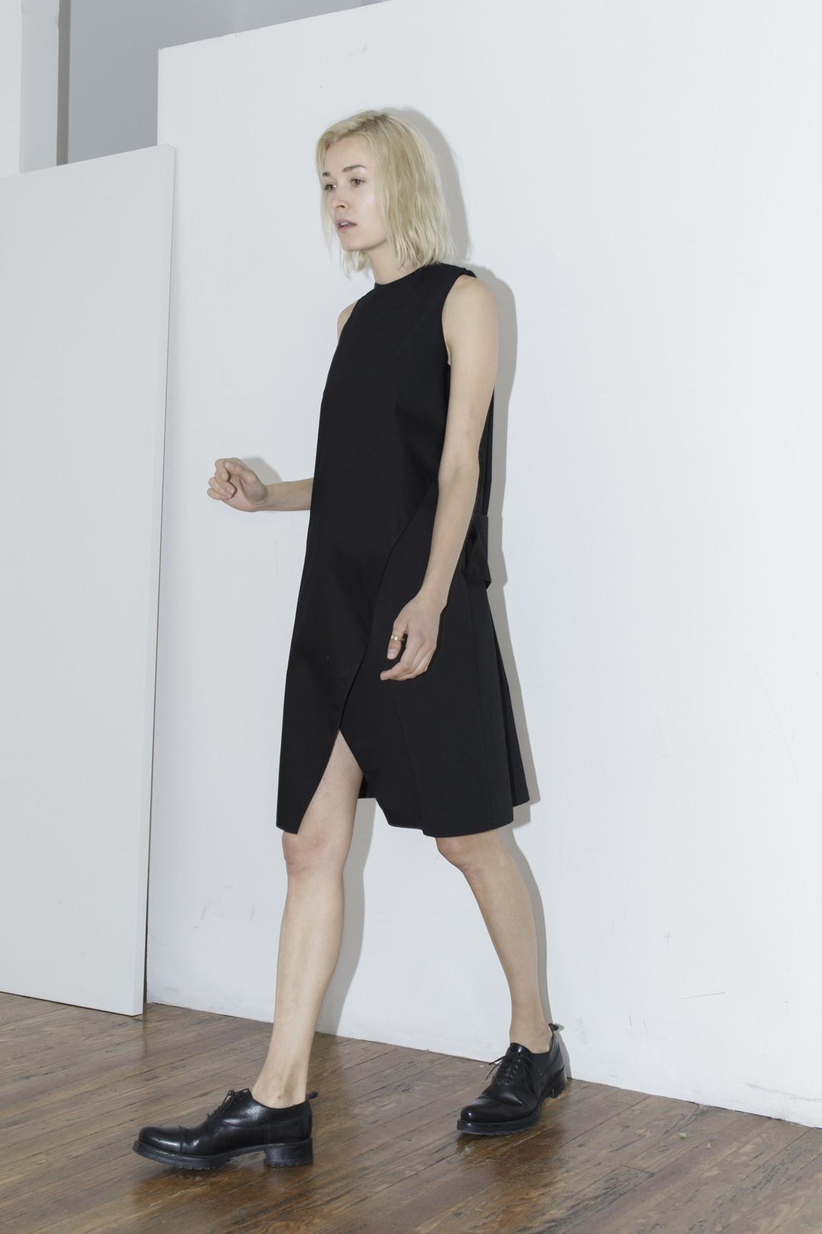 index black belt dress in black lyst