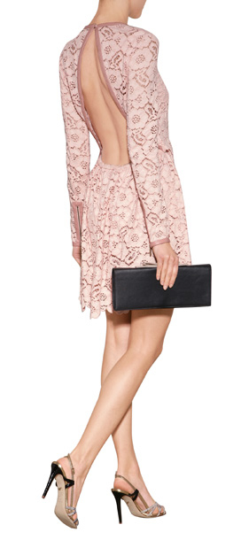 Rachel Zoe Libby Lace Dress In Pink Lyst