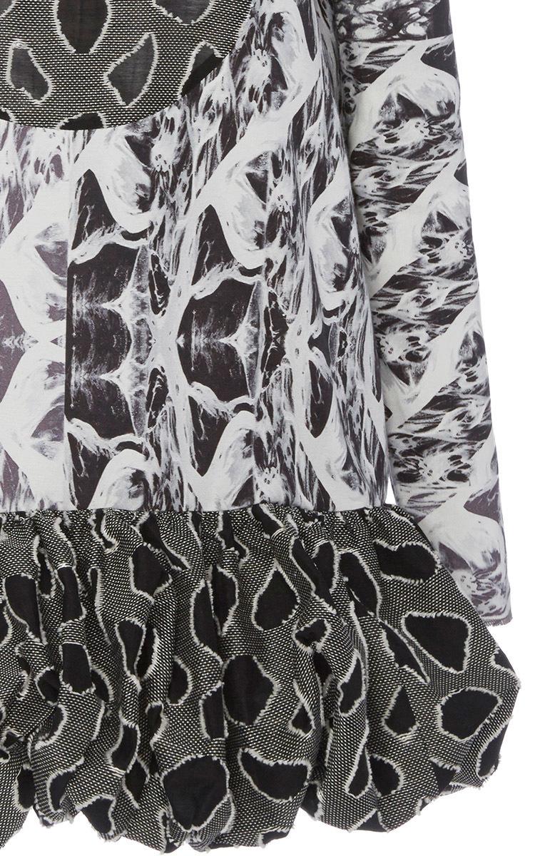 1bbd0b397e Sophie Theallet Marga Cotton Faile Dress - Lyst