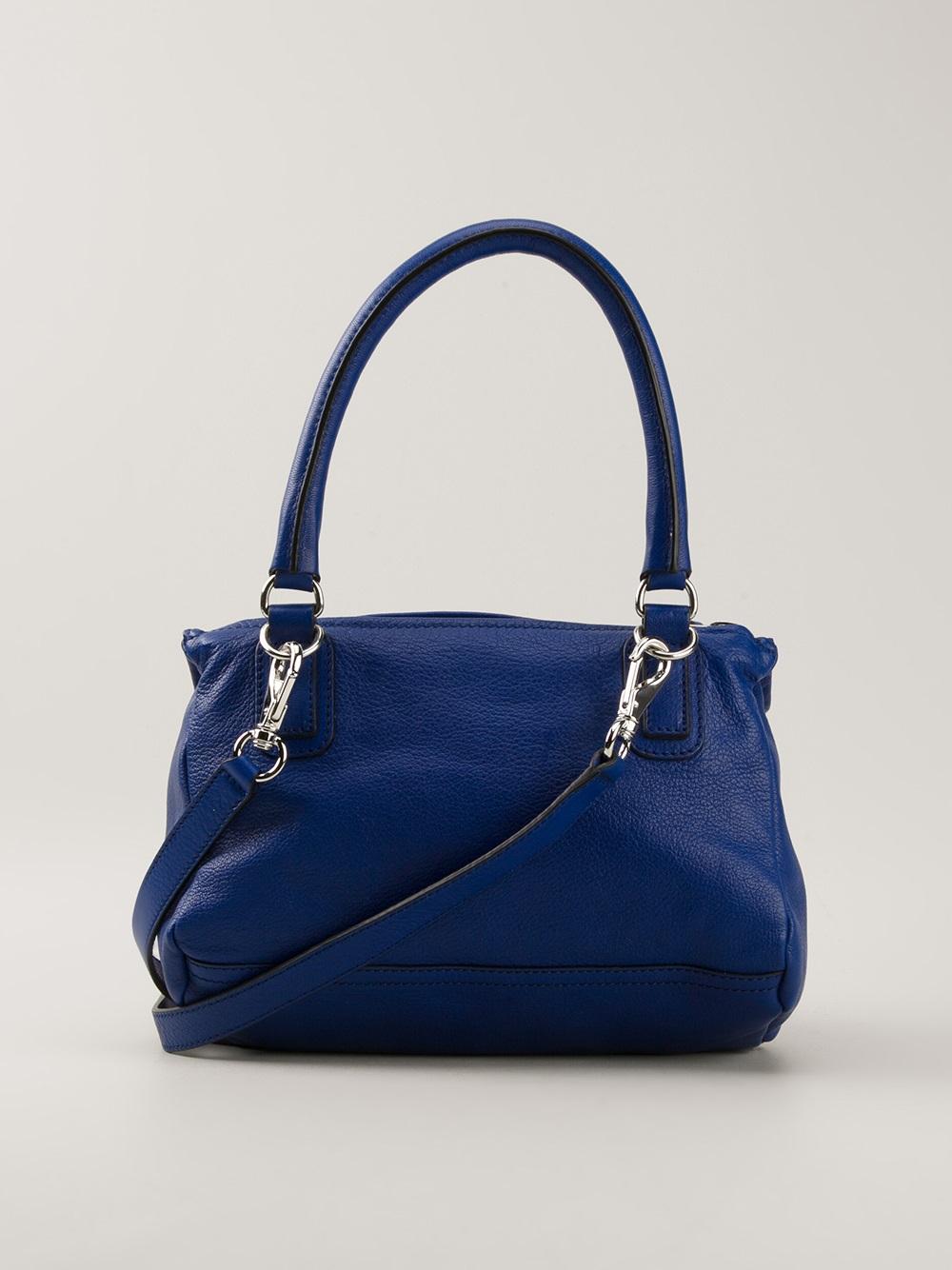 Lyst Givenchy Pandora Shoulder Bag In Blue