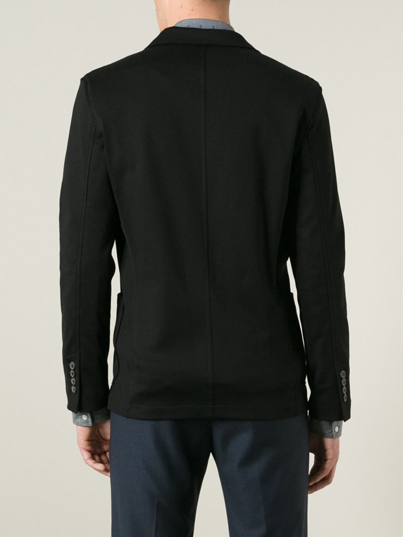 Lyst - Lanvin Casual Blazer in Black for Men