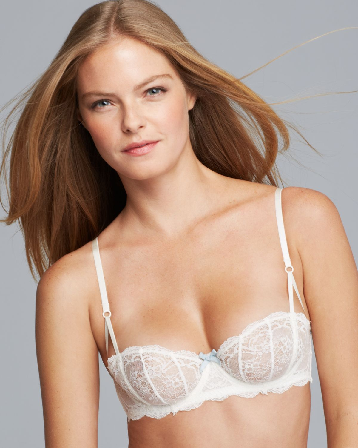 ee2b22fccfe08 Elle Macpherson - White Committed Love Unlined Underwire Bra - Lyst