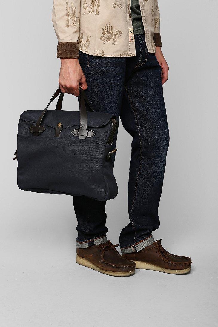 Filson Original Briefcase In Blue For Men Lyst