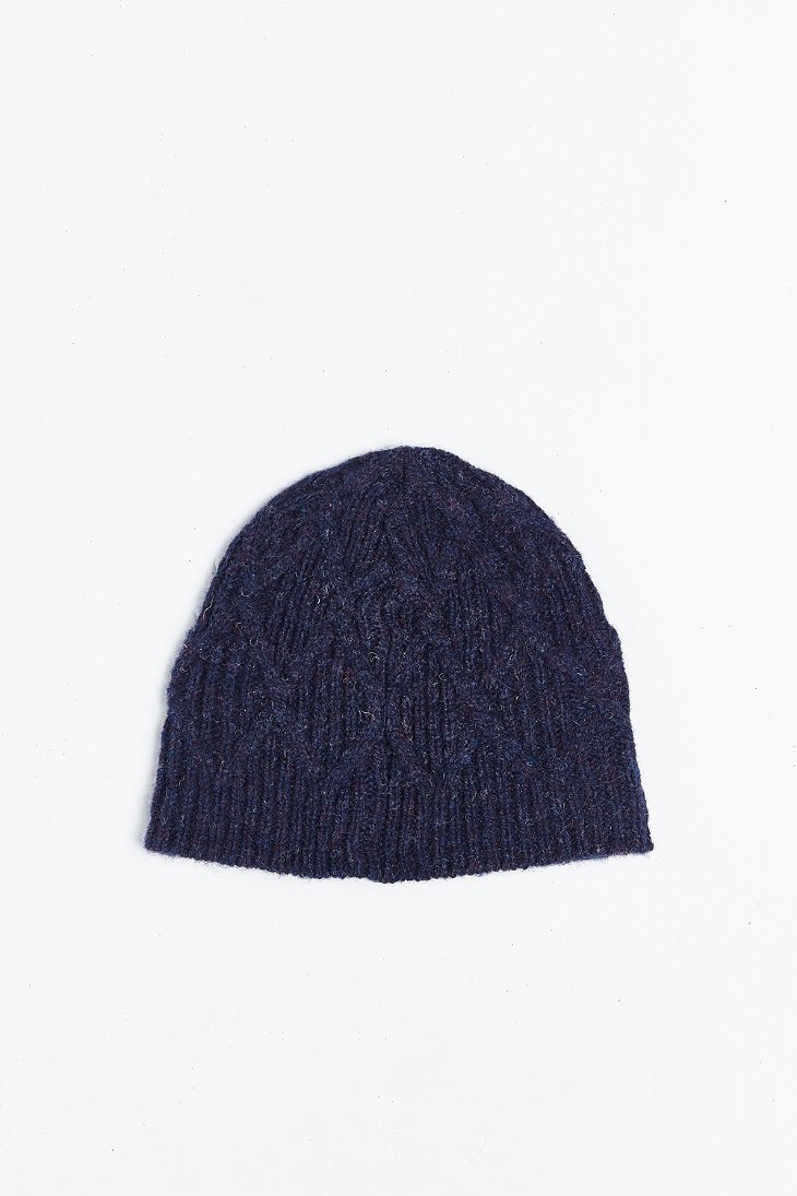 0bfbacaa3d0 Lyst - Coal The Yukon Beanie in Blue for Men