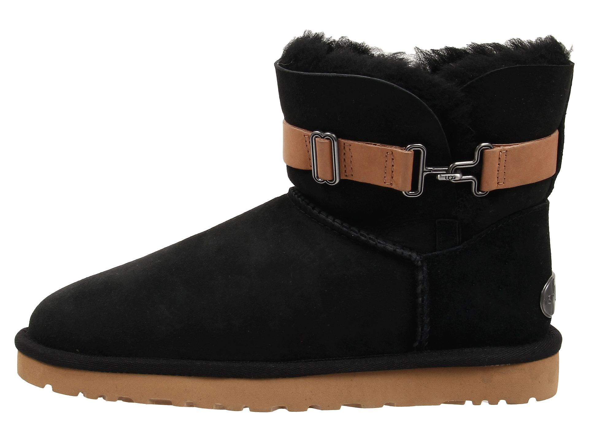Womens Boots UGG Aurelyn Black Twinface