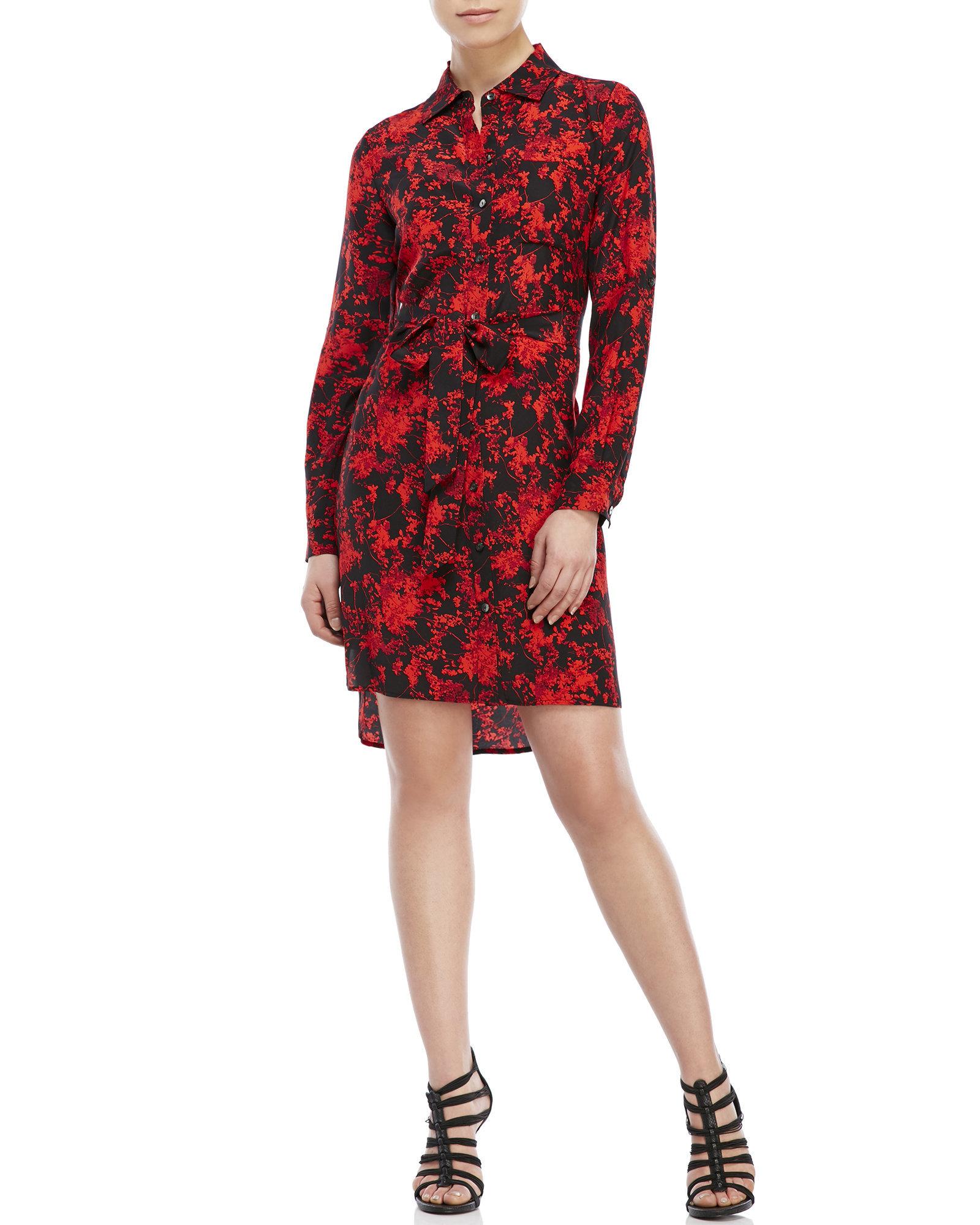 belted shirt dress - Red Diane Von Fürstenberg Good Service DkOfa
