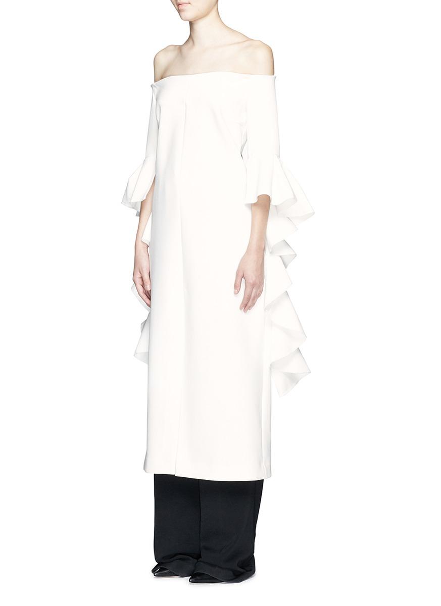 Ellery tie sleeve dress Outlet Store c24RKbYpo0