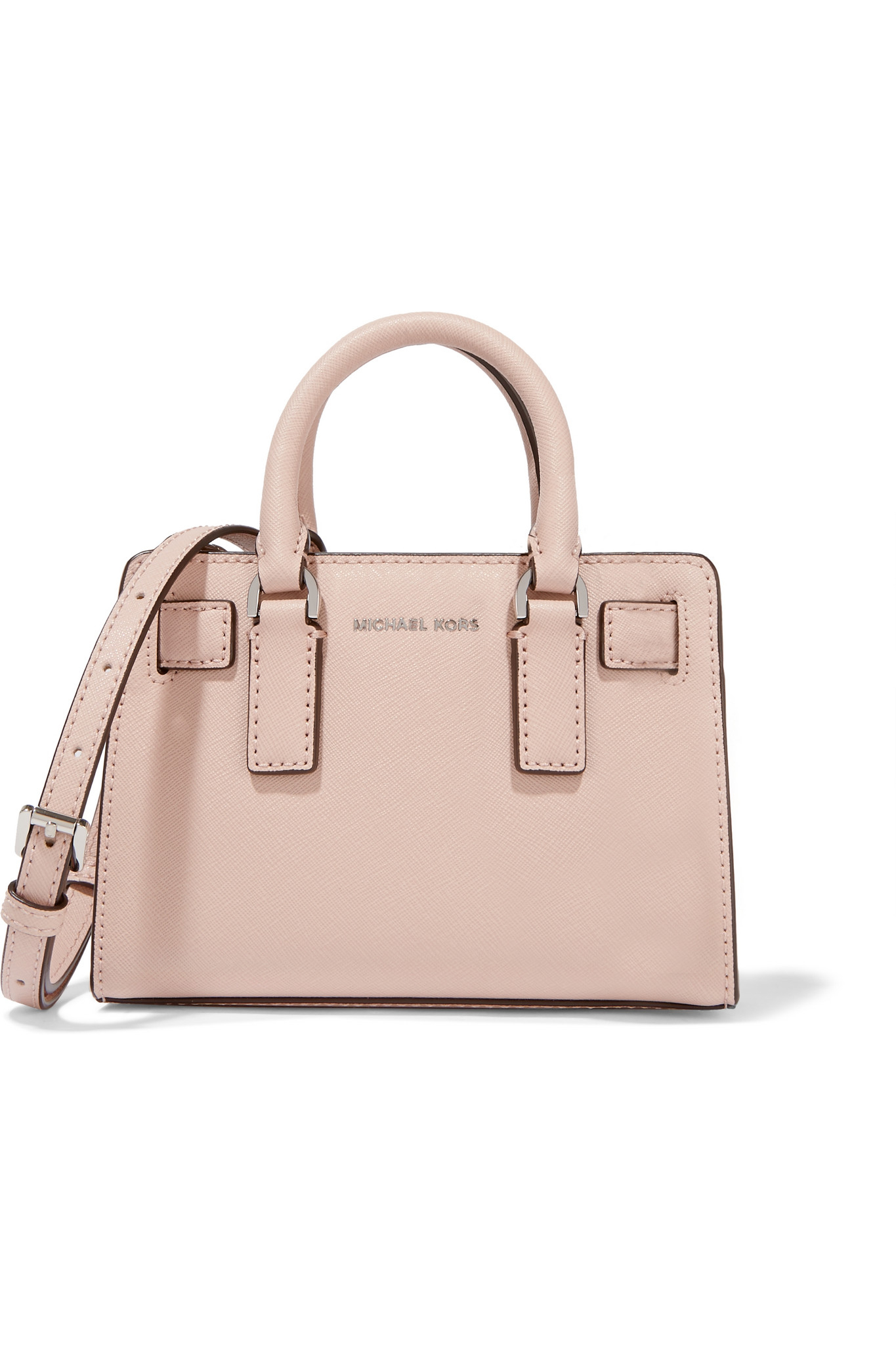 2b063ef8de29 discount code for michael michael kors dillon mini textured leather tote in pink  lyst ca6c1 4f354