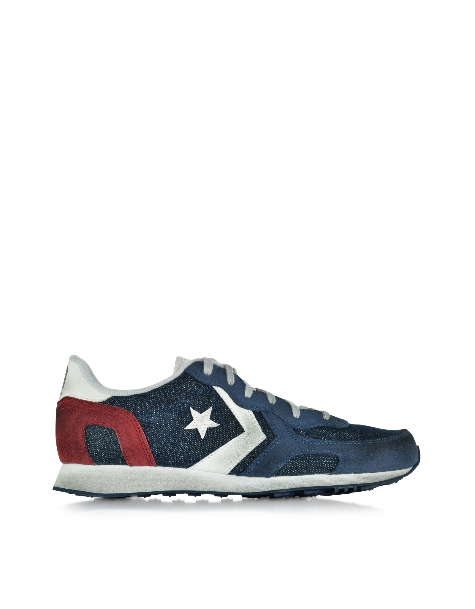 ac93faefc860 Converse Auckland Racer Ox Denim And Suede Men s Sneaker in Blue for Men -  Lyst