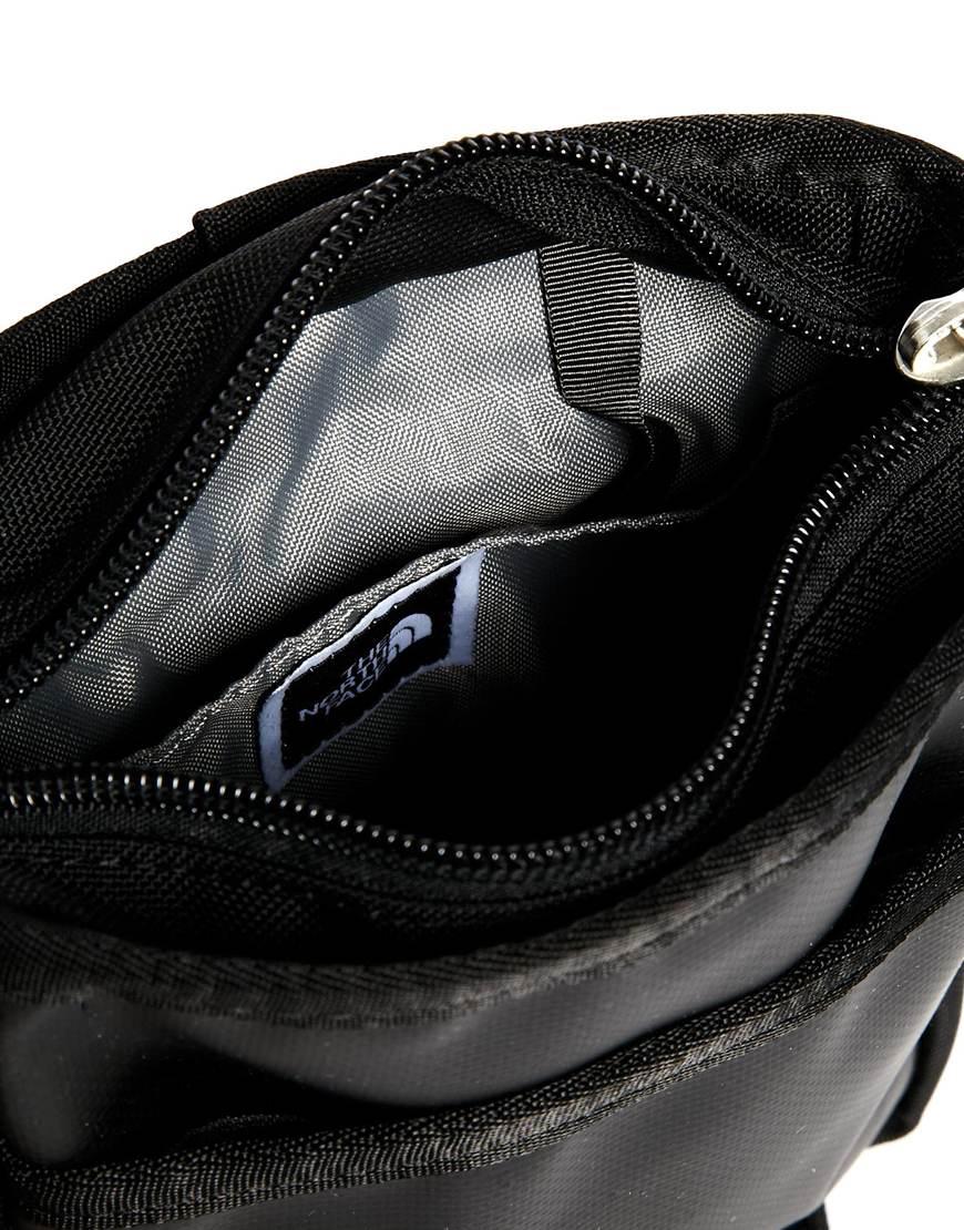 North Face Bardu Schoudertas : The north face bardu flight bag in black for men lyst