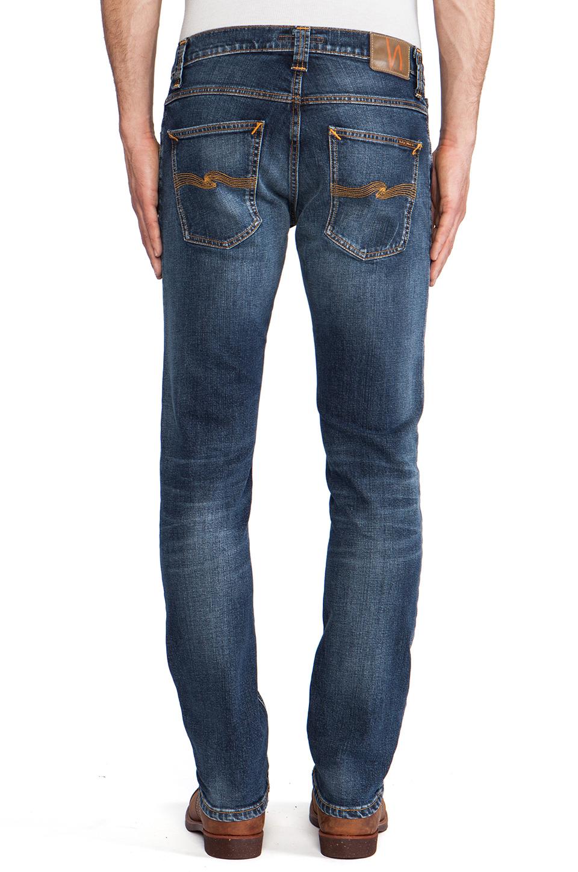 Lyst Nudie Jeans Grim Tim In Blue For Men