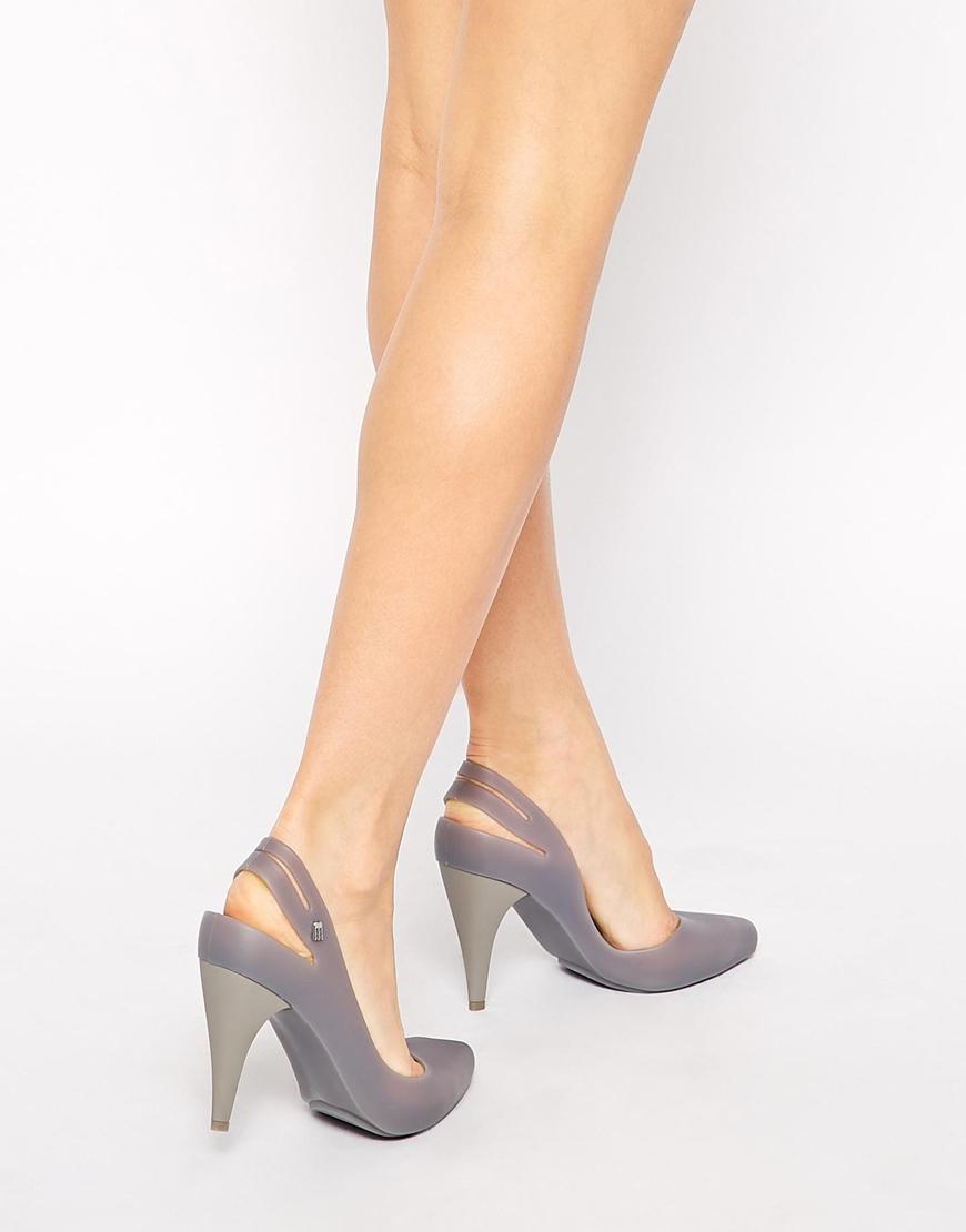 Ladies White Grey Court Shoes Uk