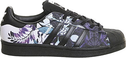 san francisco cbea5 2b55f Adidas Superstar Floral Trainers