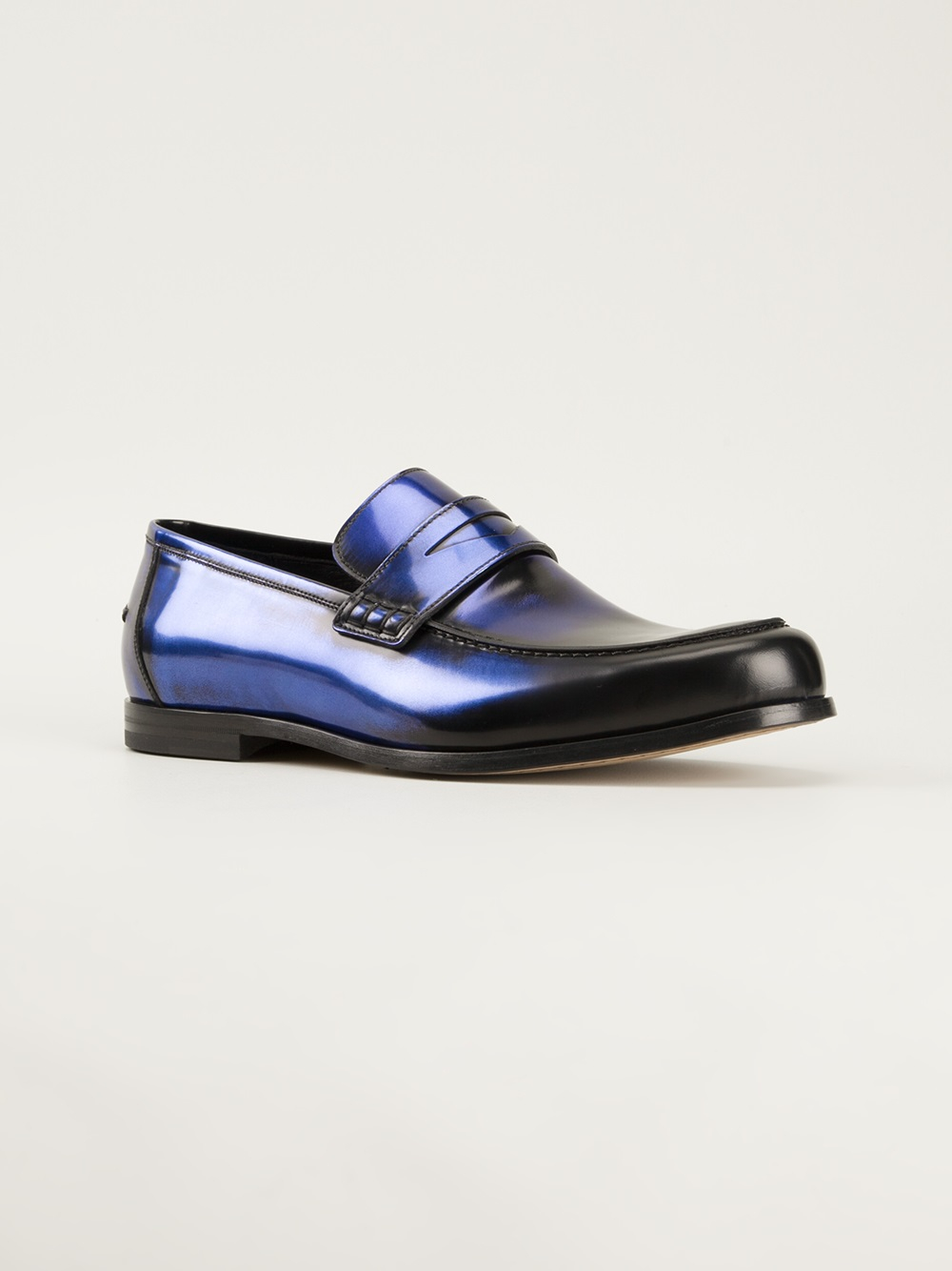 7cc132ea43e Lyst - Jimmy Choo Darblay Loafers in Blue for Men