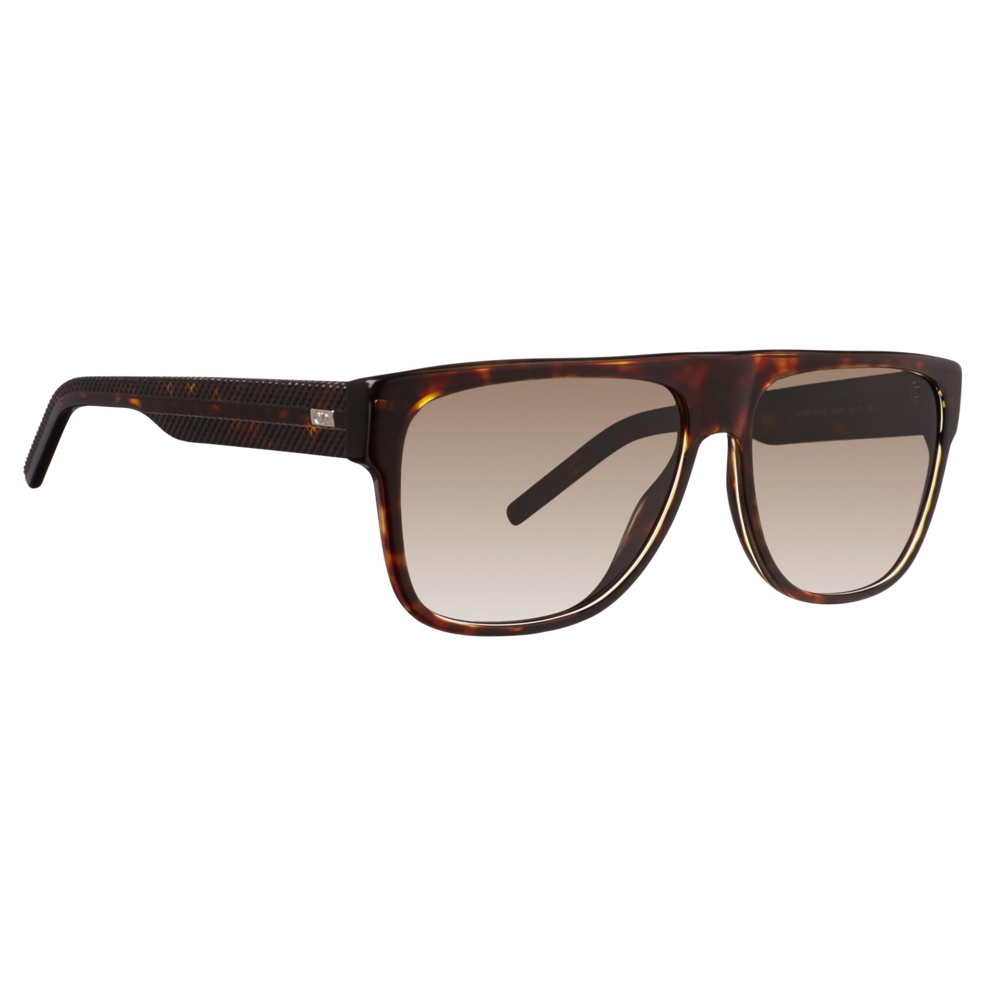 d09cbbe3cb79 Dior Black Tie 188s Square Sunglasses in Brown - Lyst