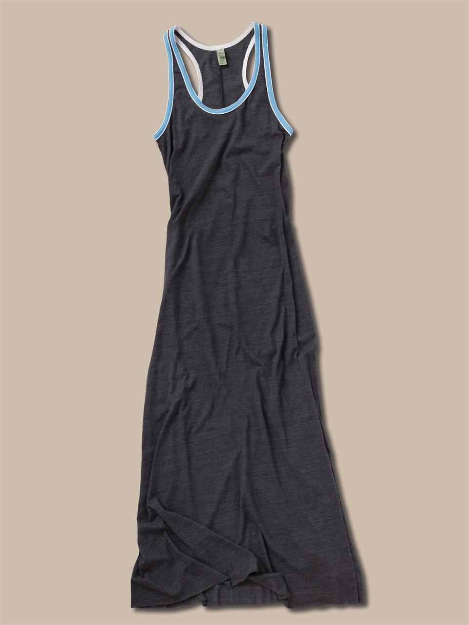 Lyst Alternative Apparel Sport Racerback Maxi Dress In Black