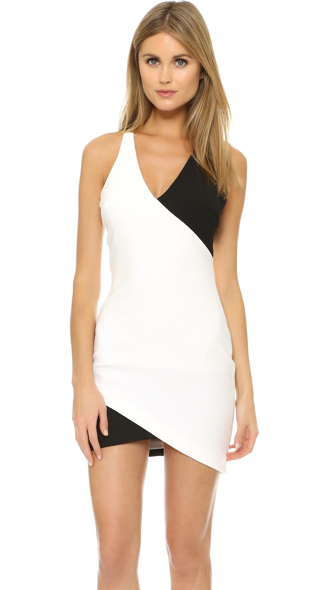 lyst elizabeth and james tali dress in white. Black Bedroom Furniture Sets. Home Design Ideas