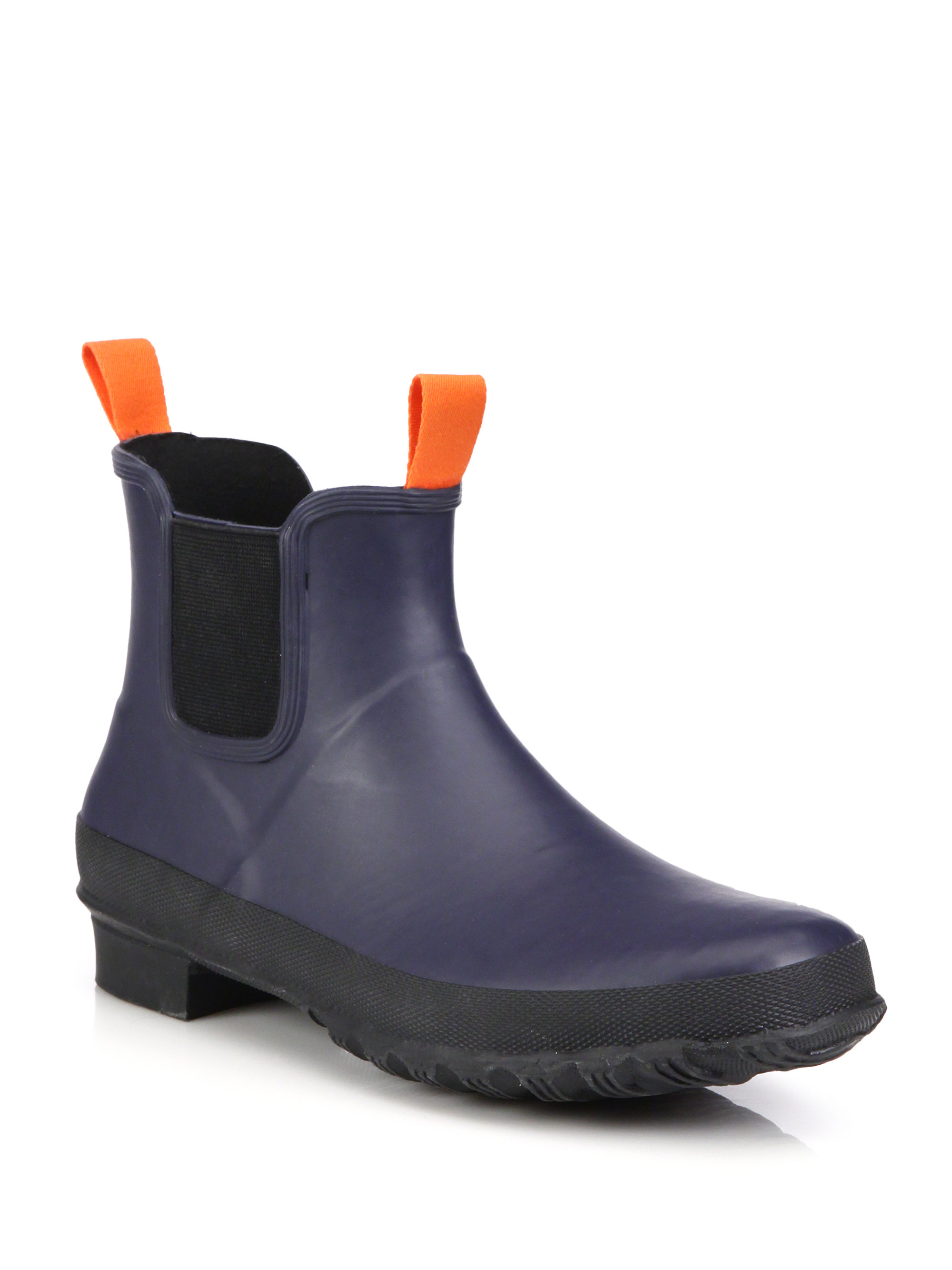Lyst Swims Charlie Rubber Chelsea Boots In Black For Men