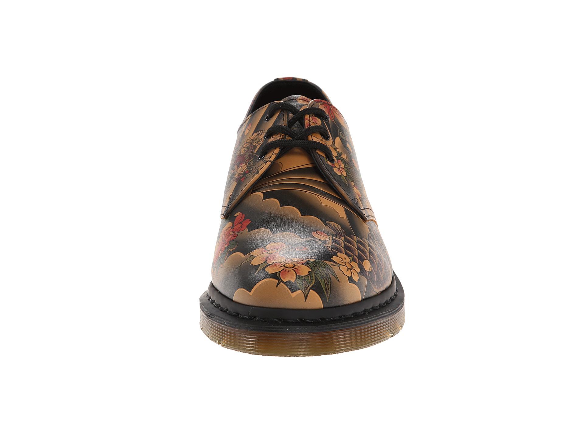 b5dba45c74 Dr. Martens 1461 3-Eye Shoe in Brown - Lyst
