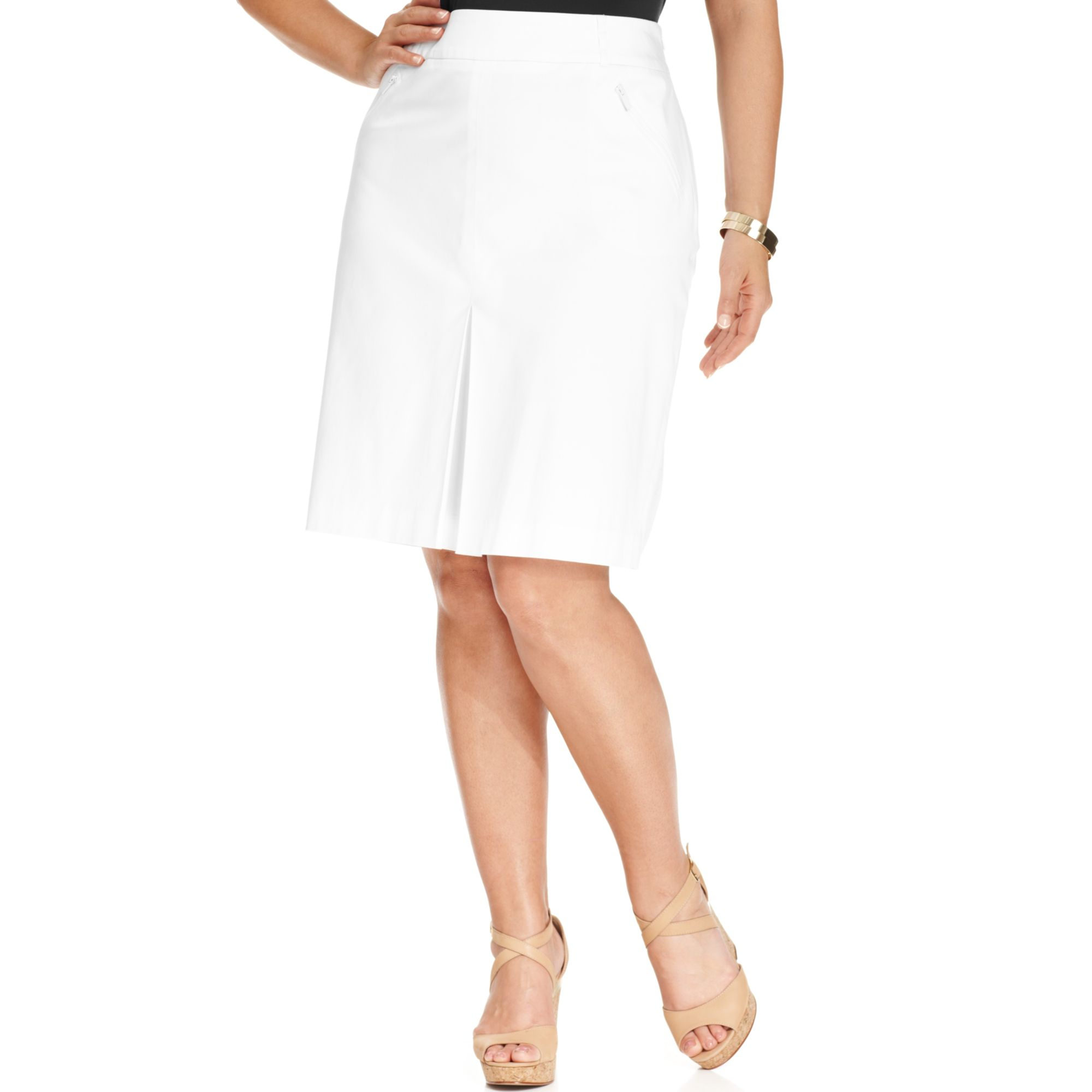 FREE SHIPPING AVAILABLE! Shop eternal-sv.tk and save on White Plus Size Skirts.