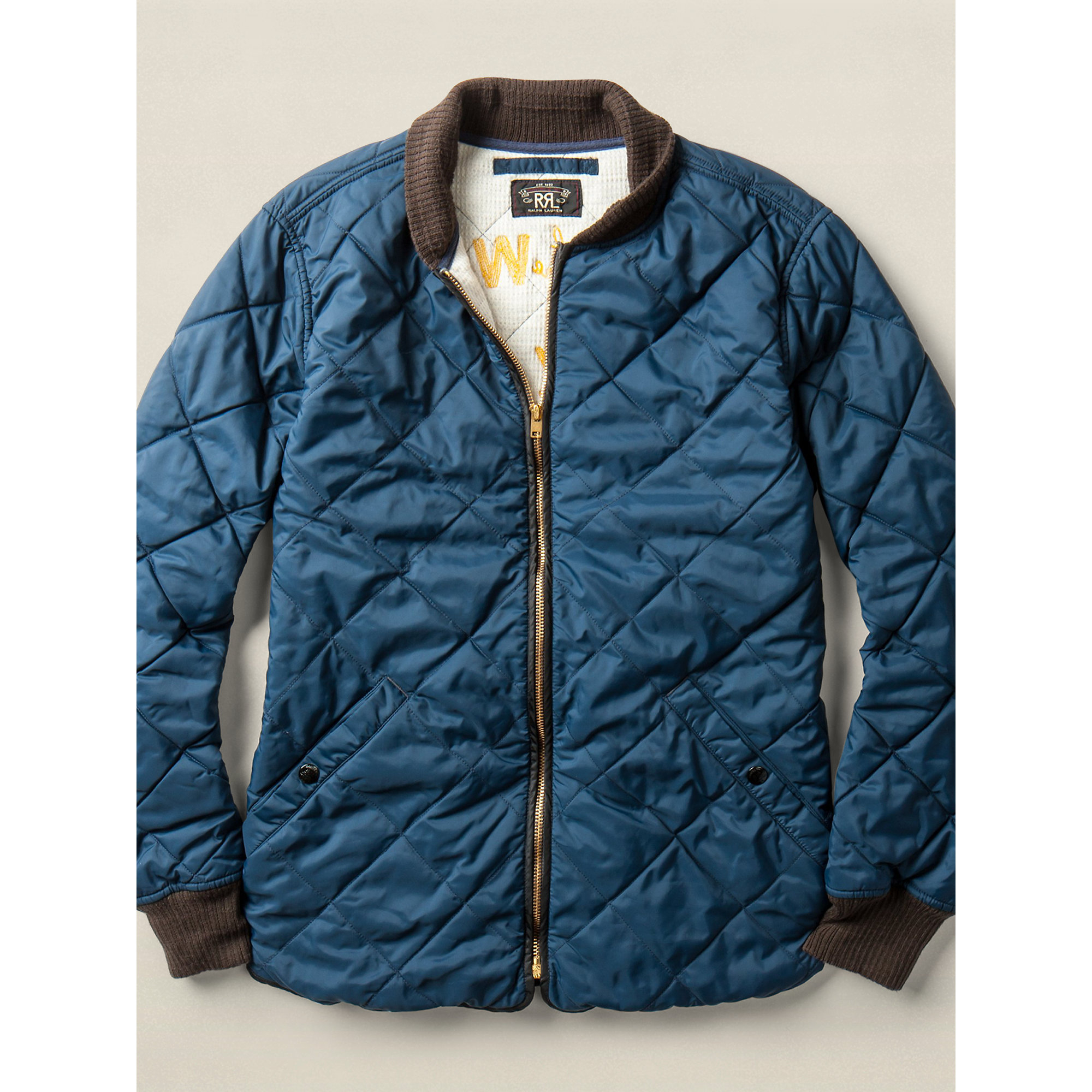 Lyst Rrl Baker Jacket In Blue For Men
