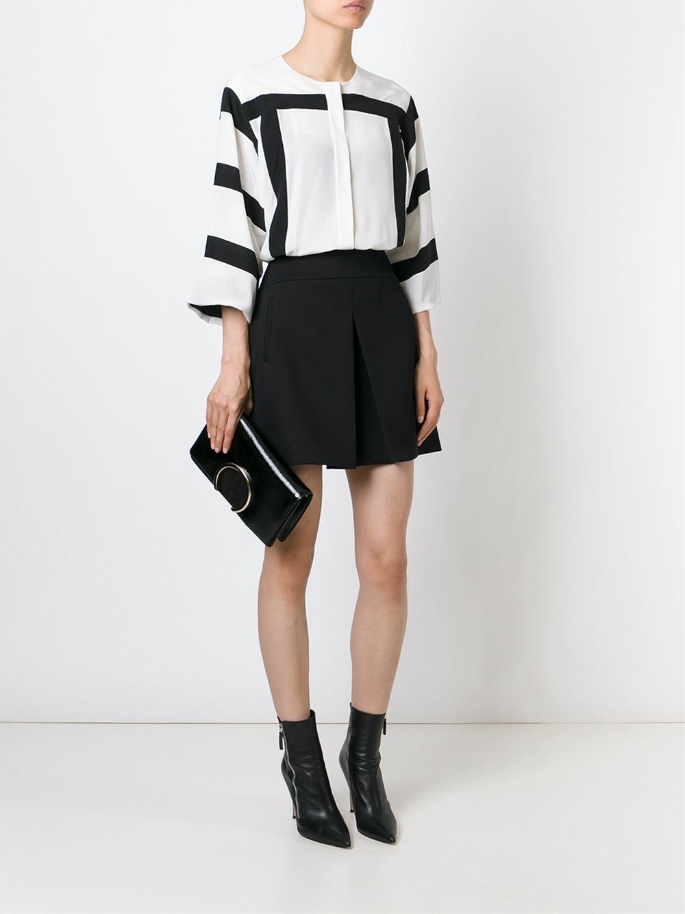 clohe handbags - Chlo�� \u0026#39;faye\u0026#39; Clutch in Black | Lyst