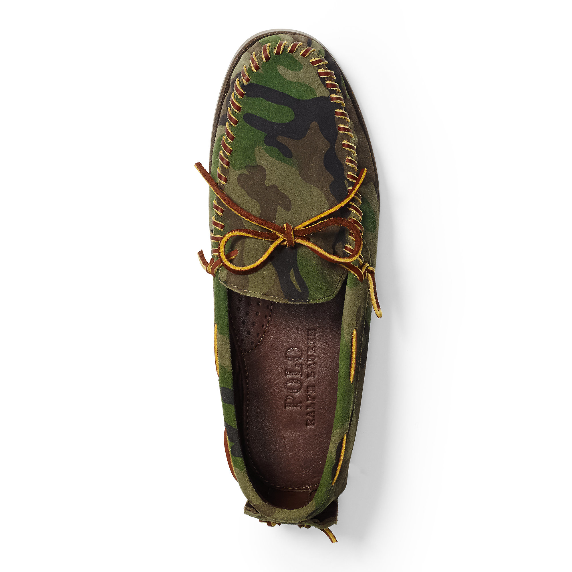 Lyst Polo Ralph Lauren Tyneside Camouflage Moccasin In