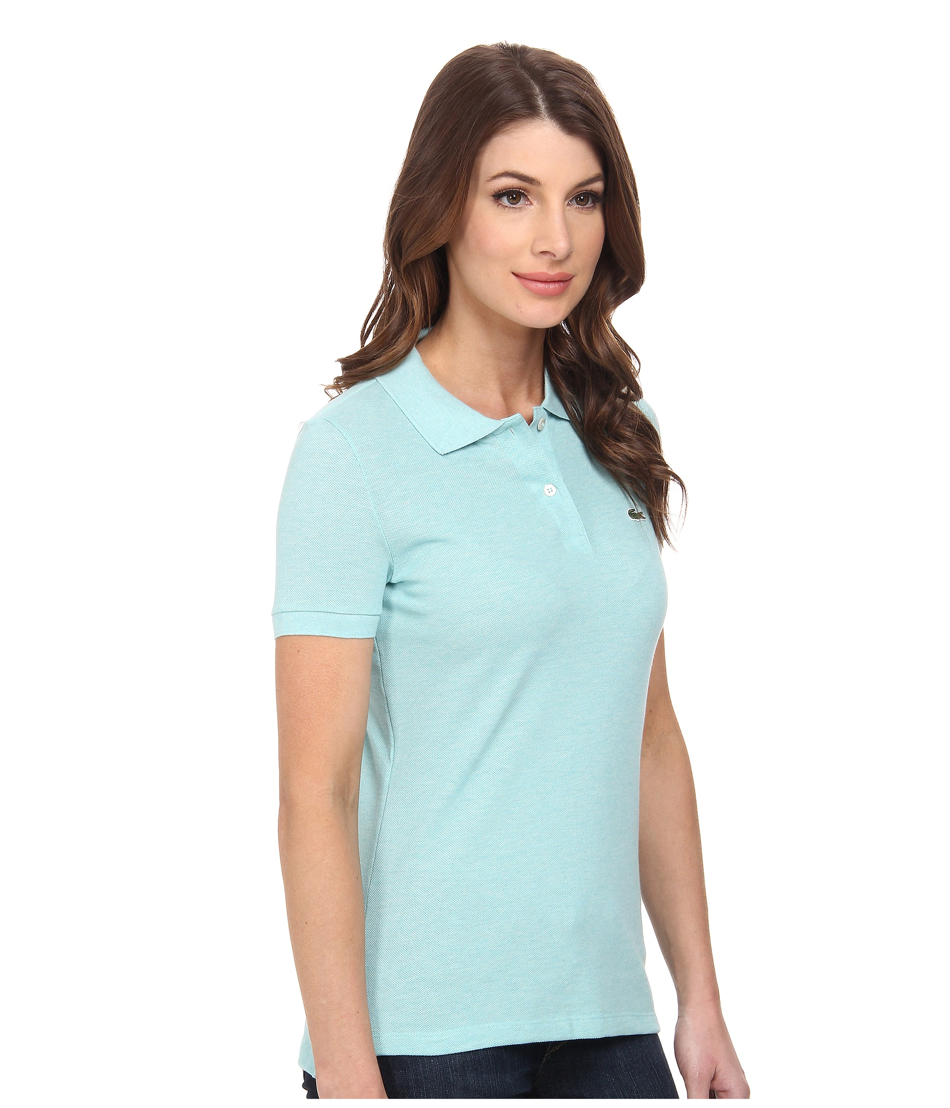 Lyst Lacoste Short Sleeve Classic Fit Pique Polo Shirt