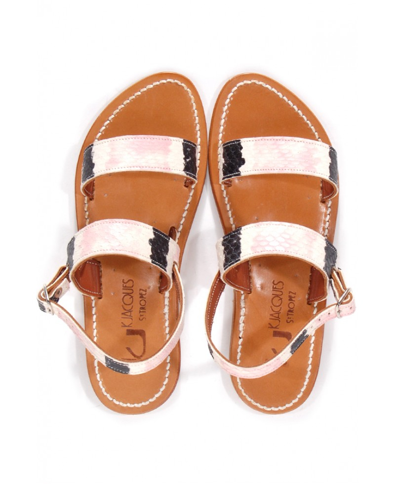 Lyst K Jacques Andry Rose Barigoule Sandal In Pink