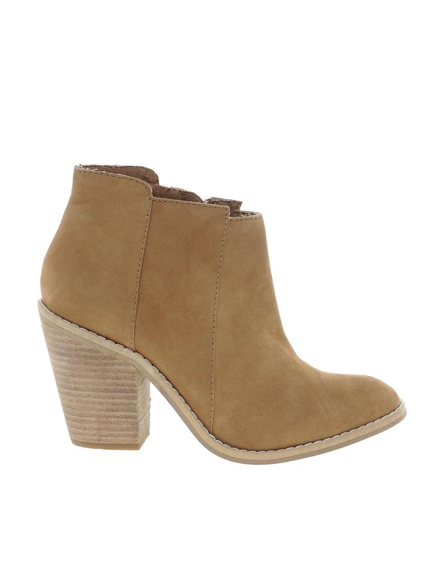 Kelsi dagger brooklyn Jaegger Cognac Mid Heel Boots in ...