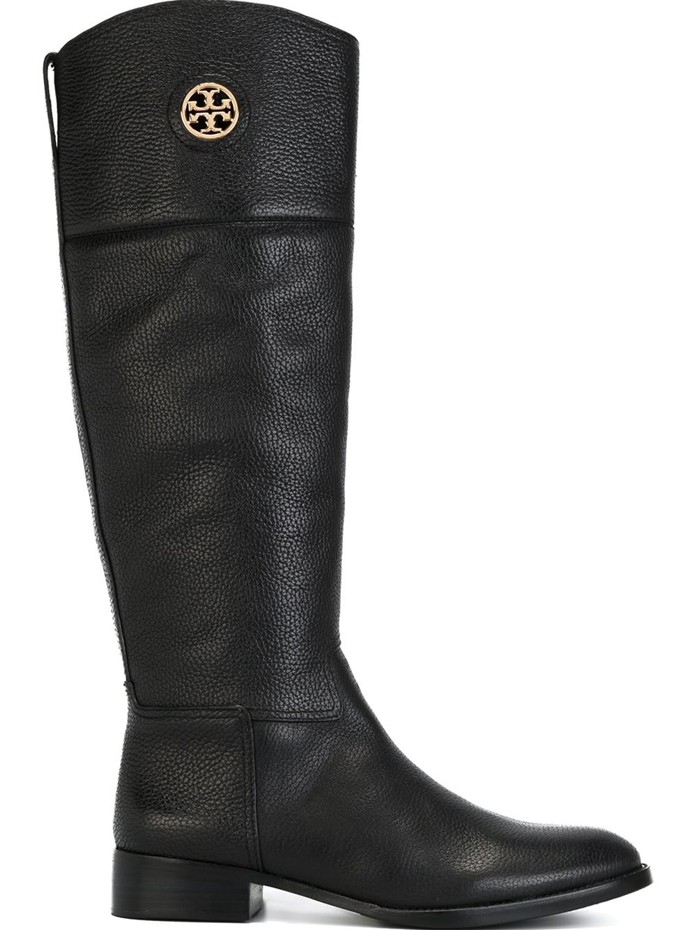 Tory Burch Knee High Boots In Black Lyst