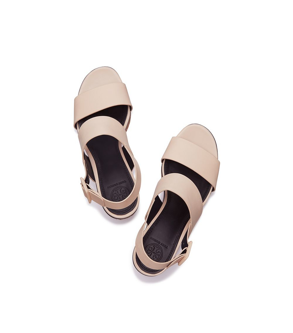 72bd89306a8 Lyst - Tory Burch Solana Espadrille Sandal in Natural